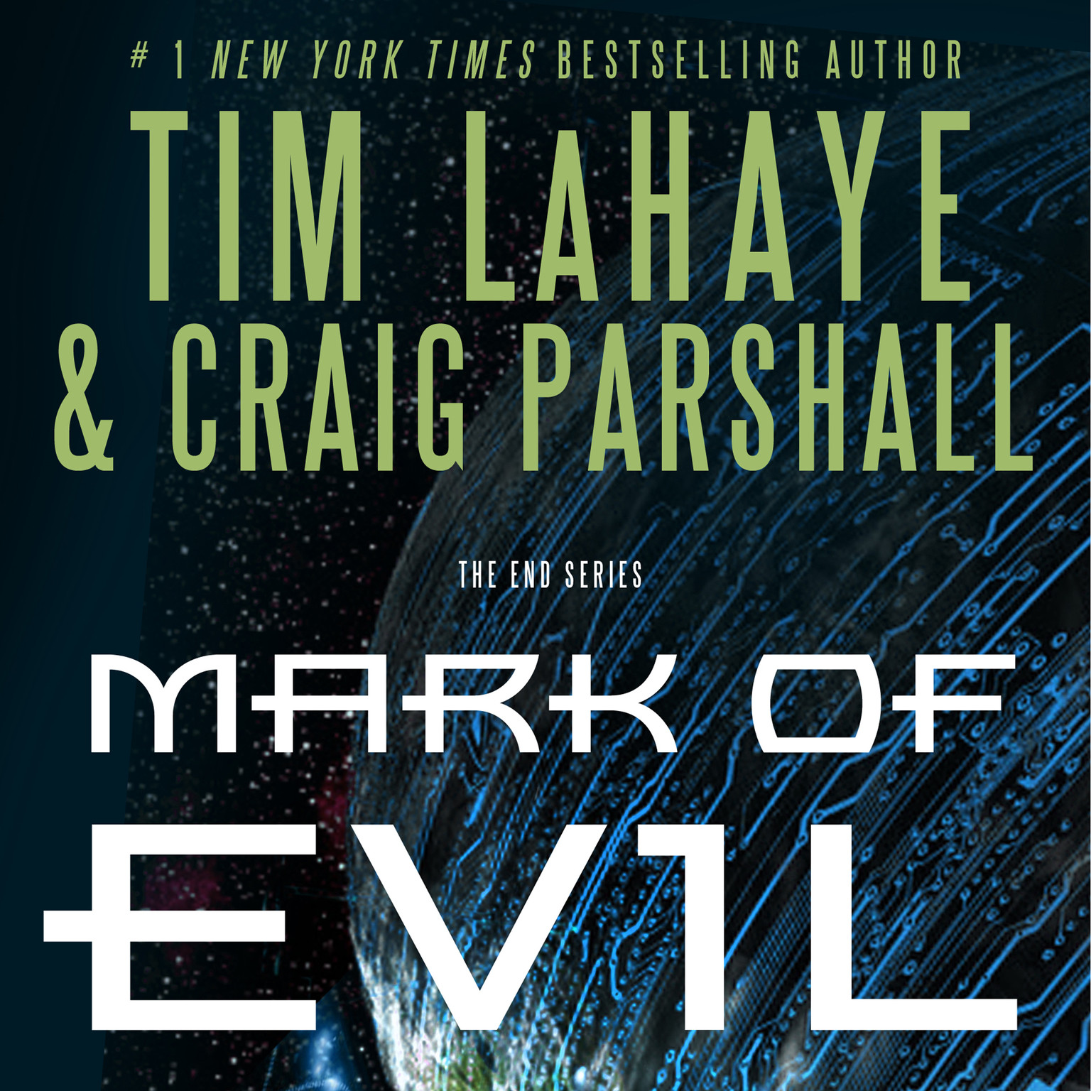 Printable Mark of Evil Audiobook Cover Art