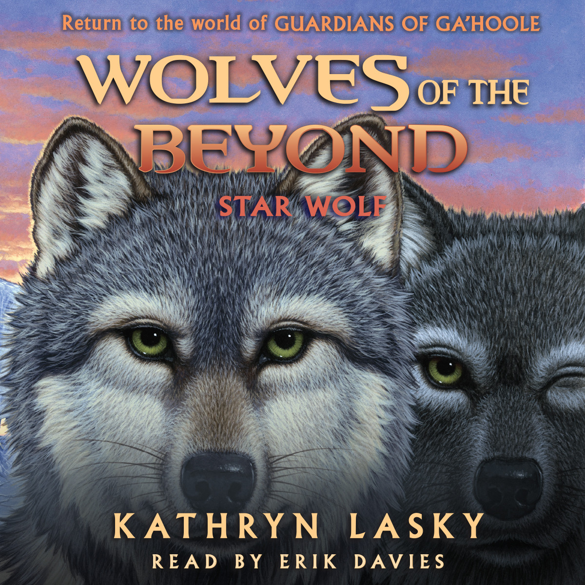 Printable Star Wolf Audiobook Cover Art