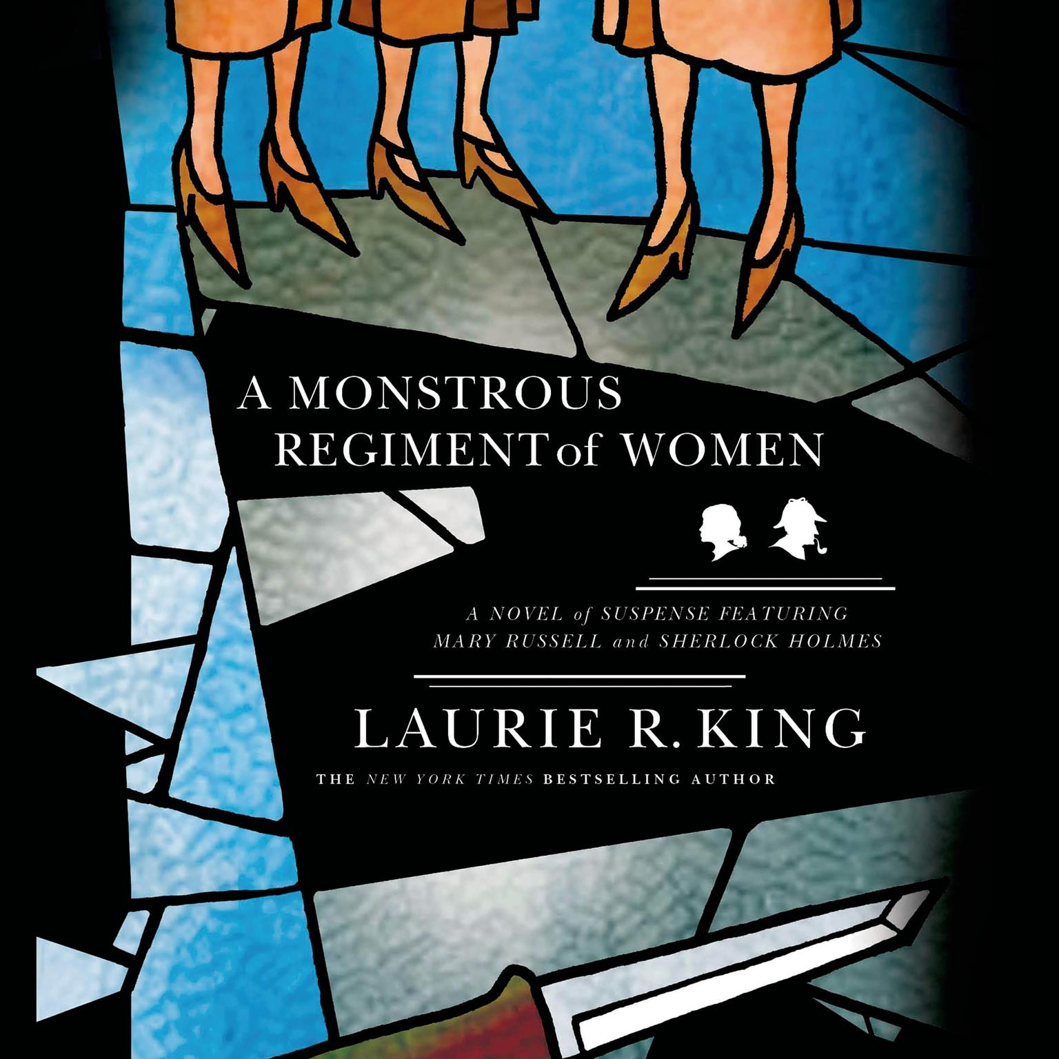 Printable A Monstrous Regiment of Women: A Novel of Suspense Featuring Mary Russell and Sherlock Holmes Audiobook Cover Art