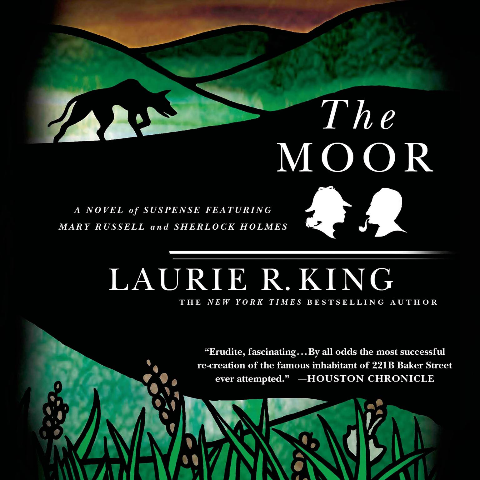 Printable The Moor: A Novel of Suspense Featuring Mary Russell and Sherlock Holmes Audiobook Cover Art
