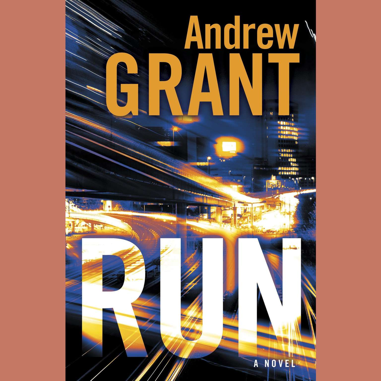 Printable Run: A Novel Audiobook Cover Art