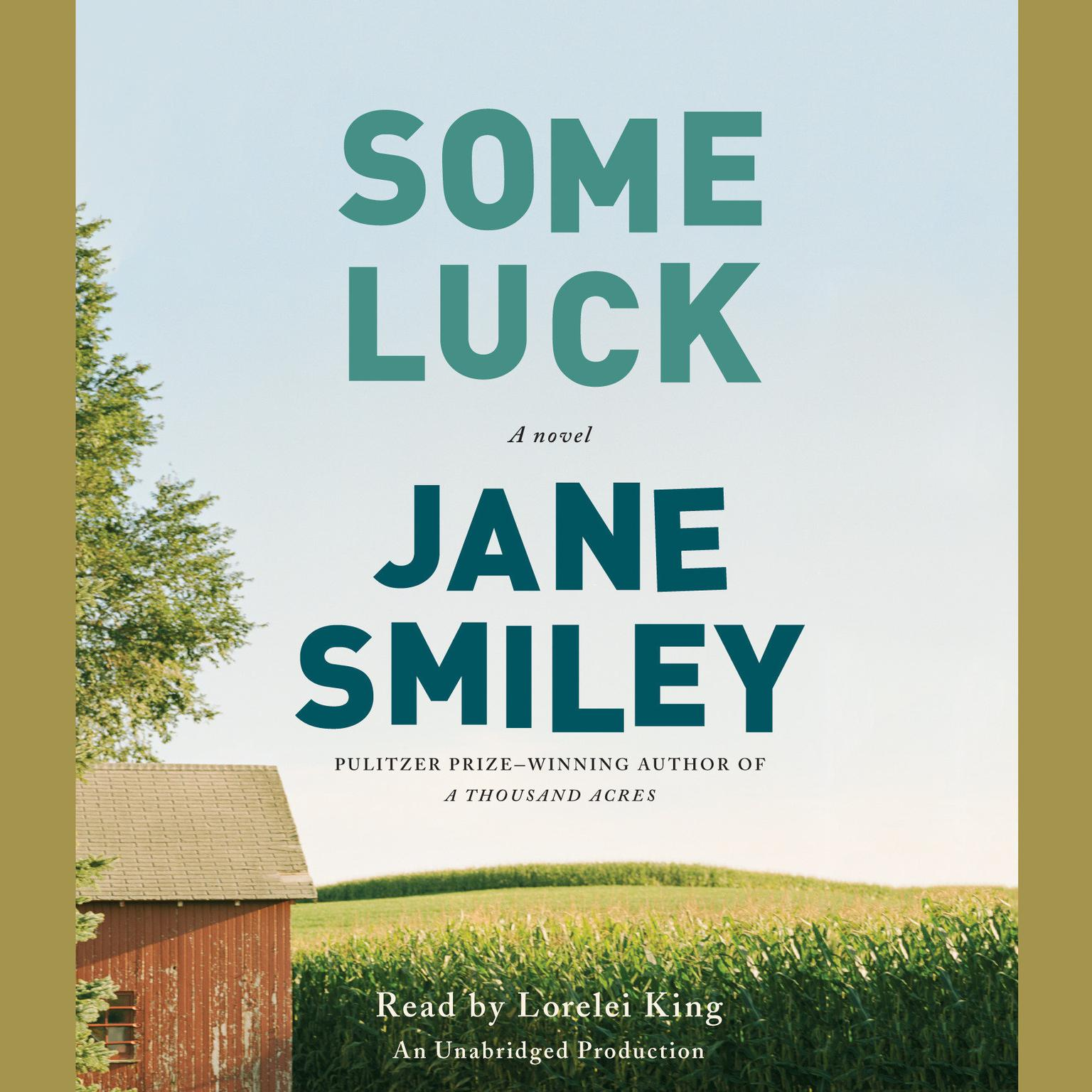 Printable Some Luck: A novel Audiobook Cover Art