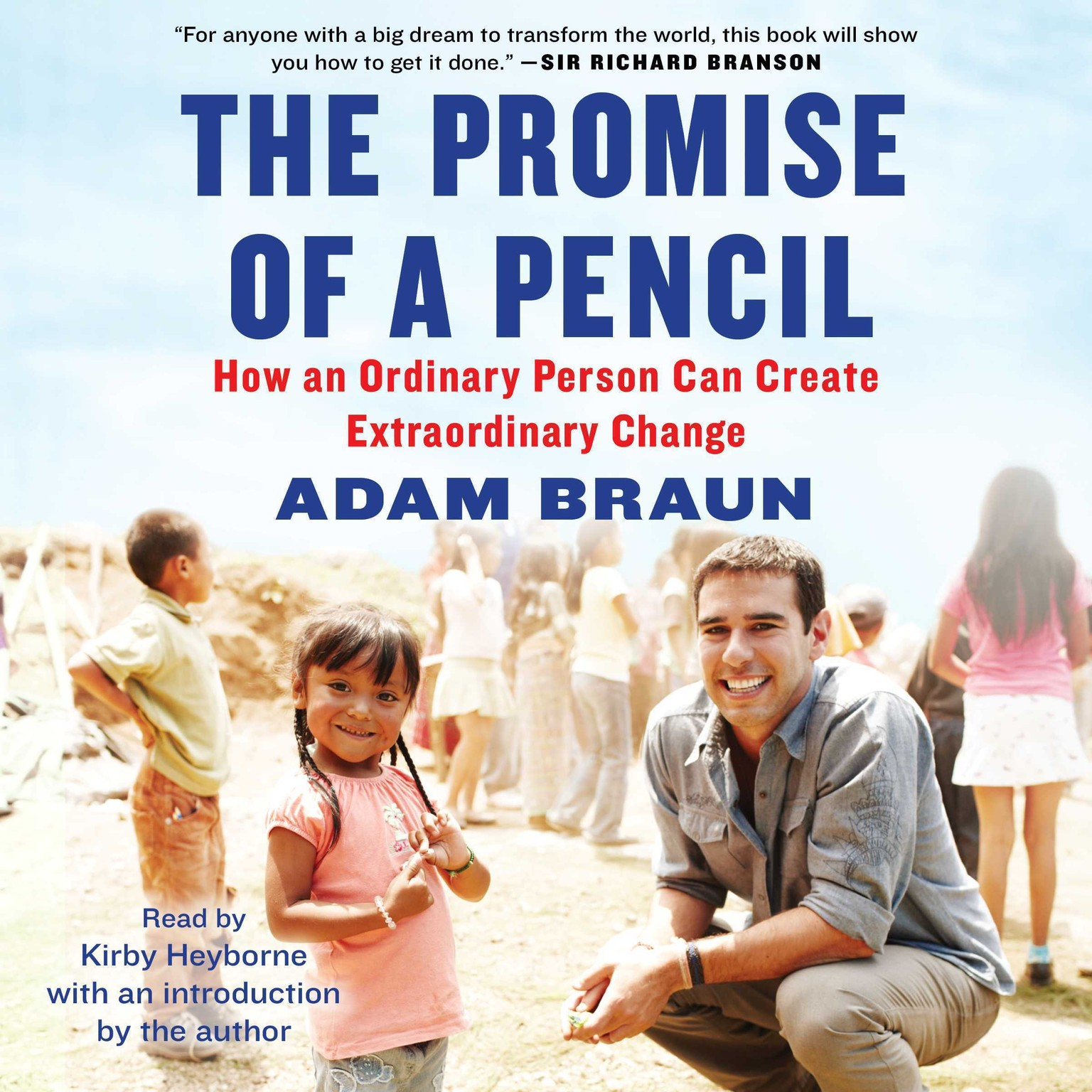 Printable The Promise of a Pencil: How an Ordinary Person Can Create Extraordinary Change Audiobook Cover Art