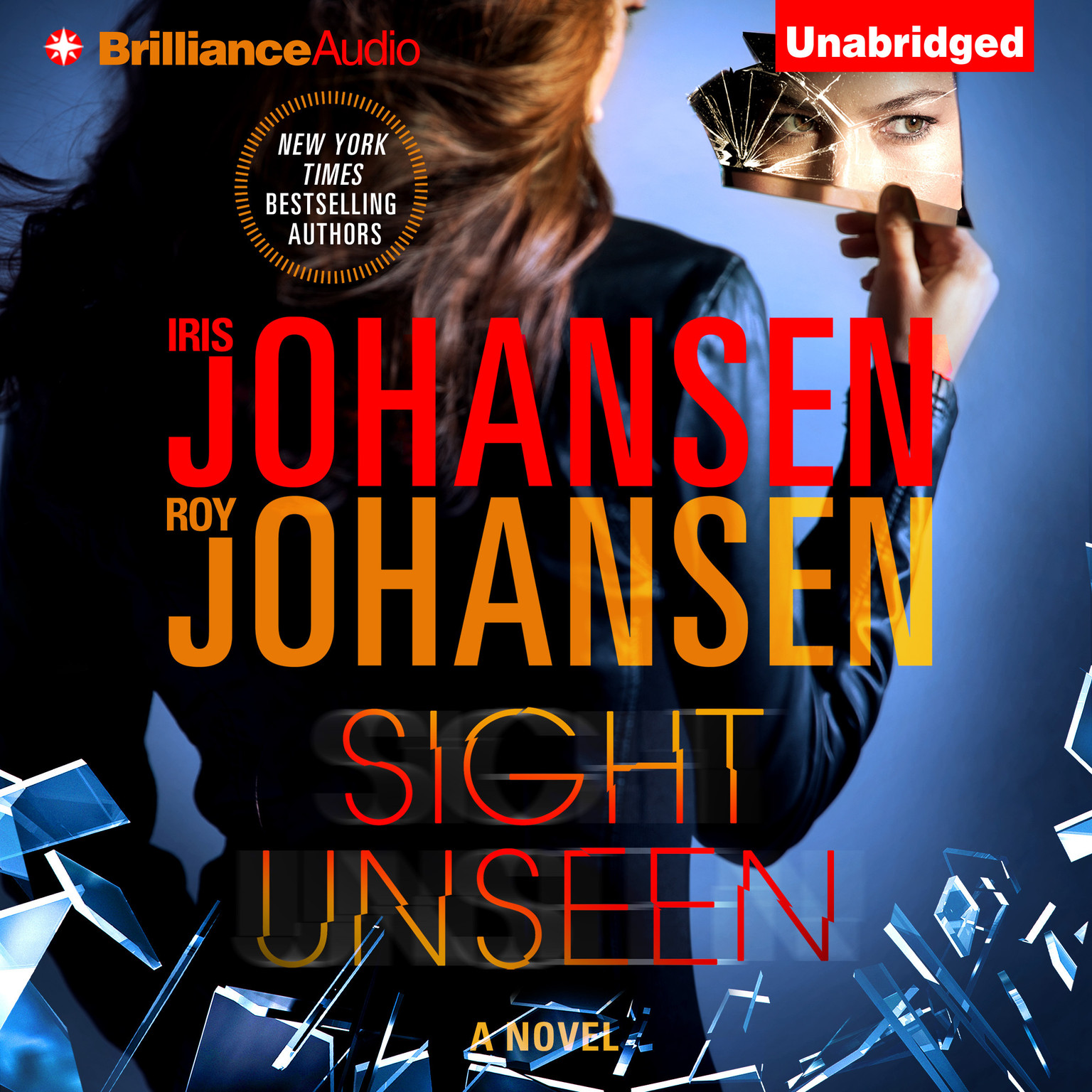 Printable Sight Unseen Audiobook Cover Art