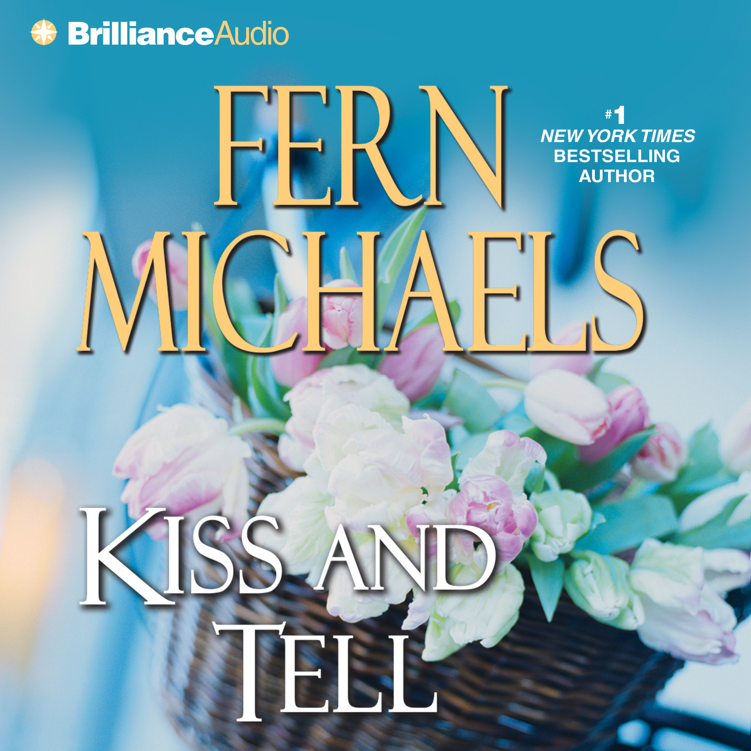 Printable Kiss and Tell Audiobook Cover Art