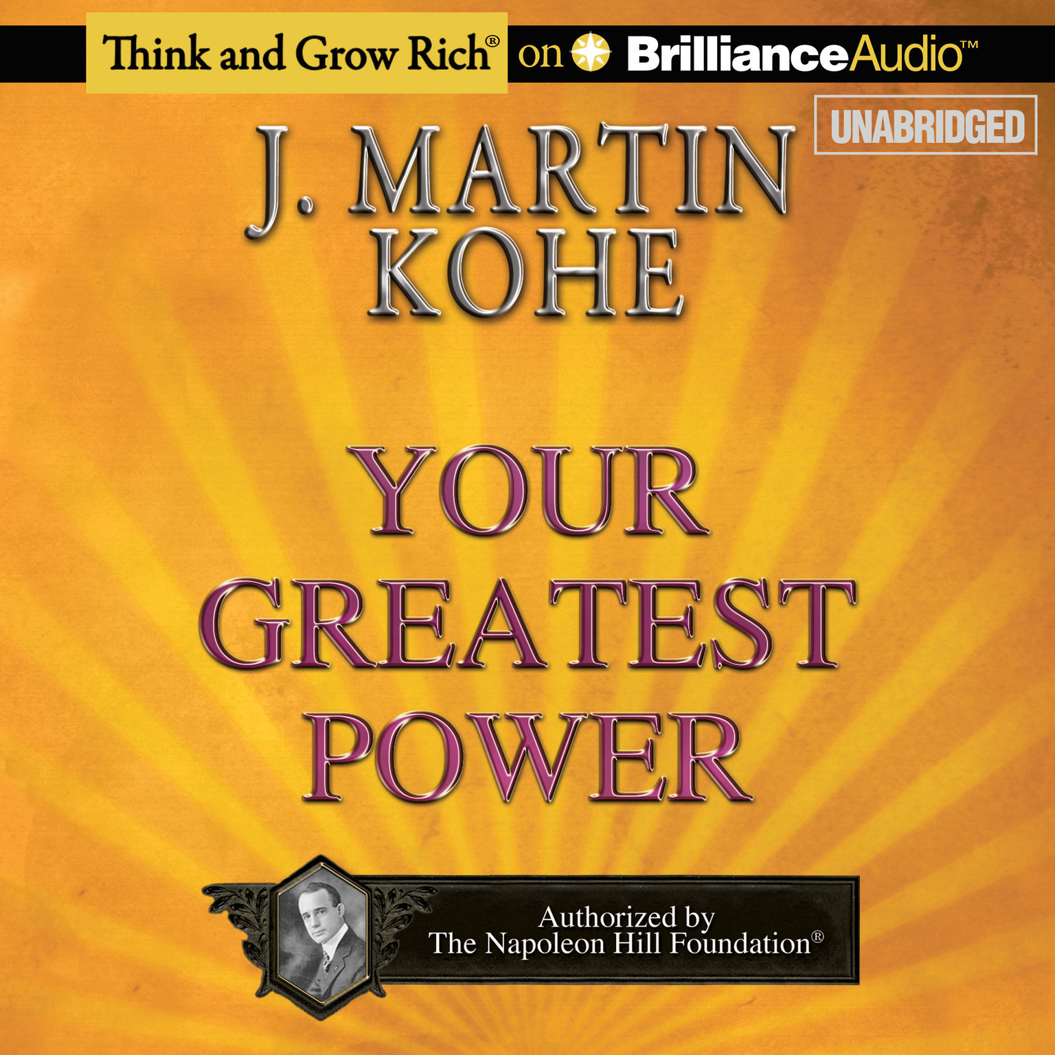 Printable Your Greatest Power Audiobook Cover Art