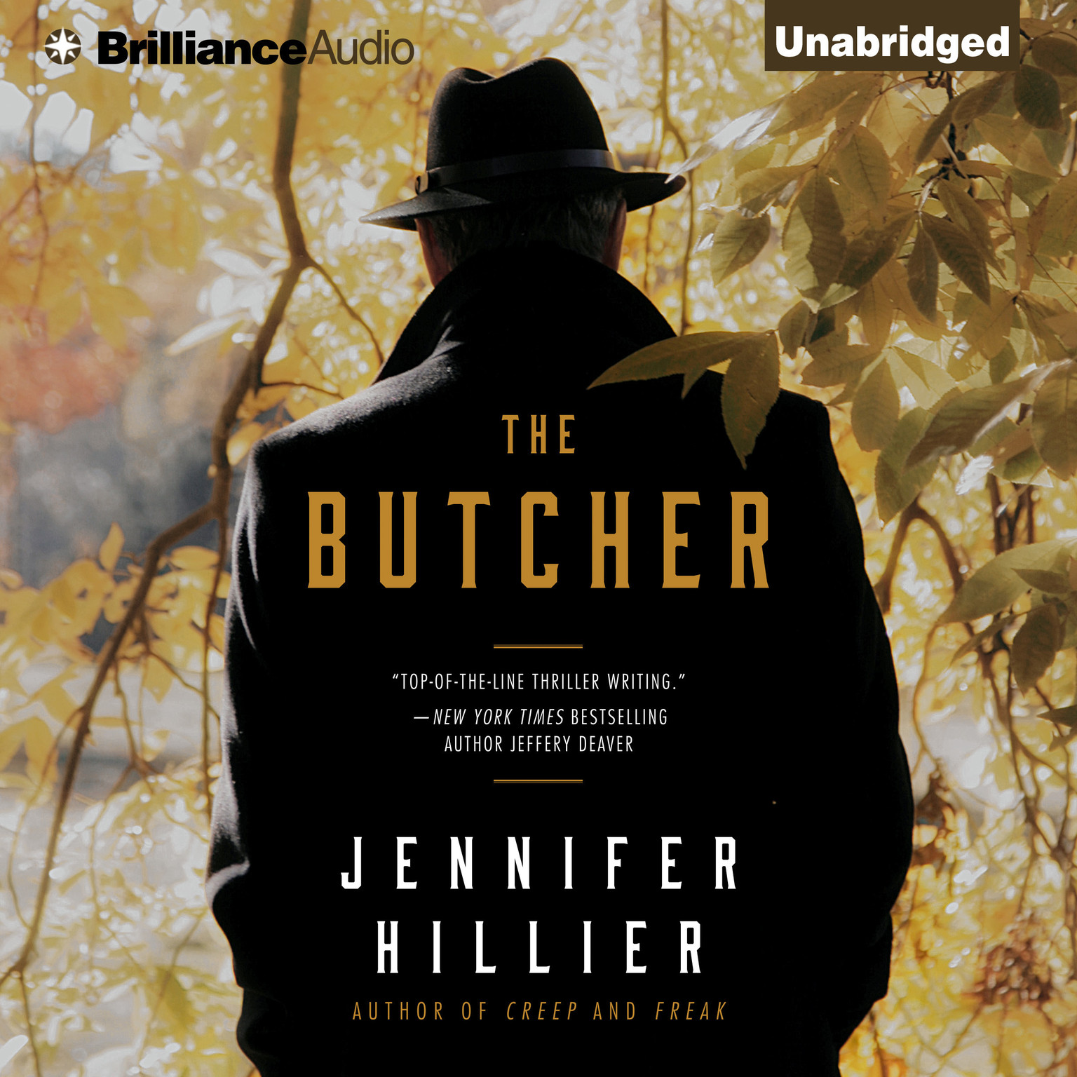 Printable The Butcher Audiobook Cover Art