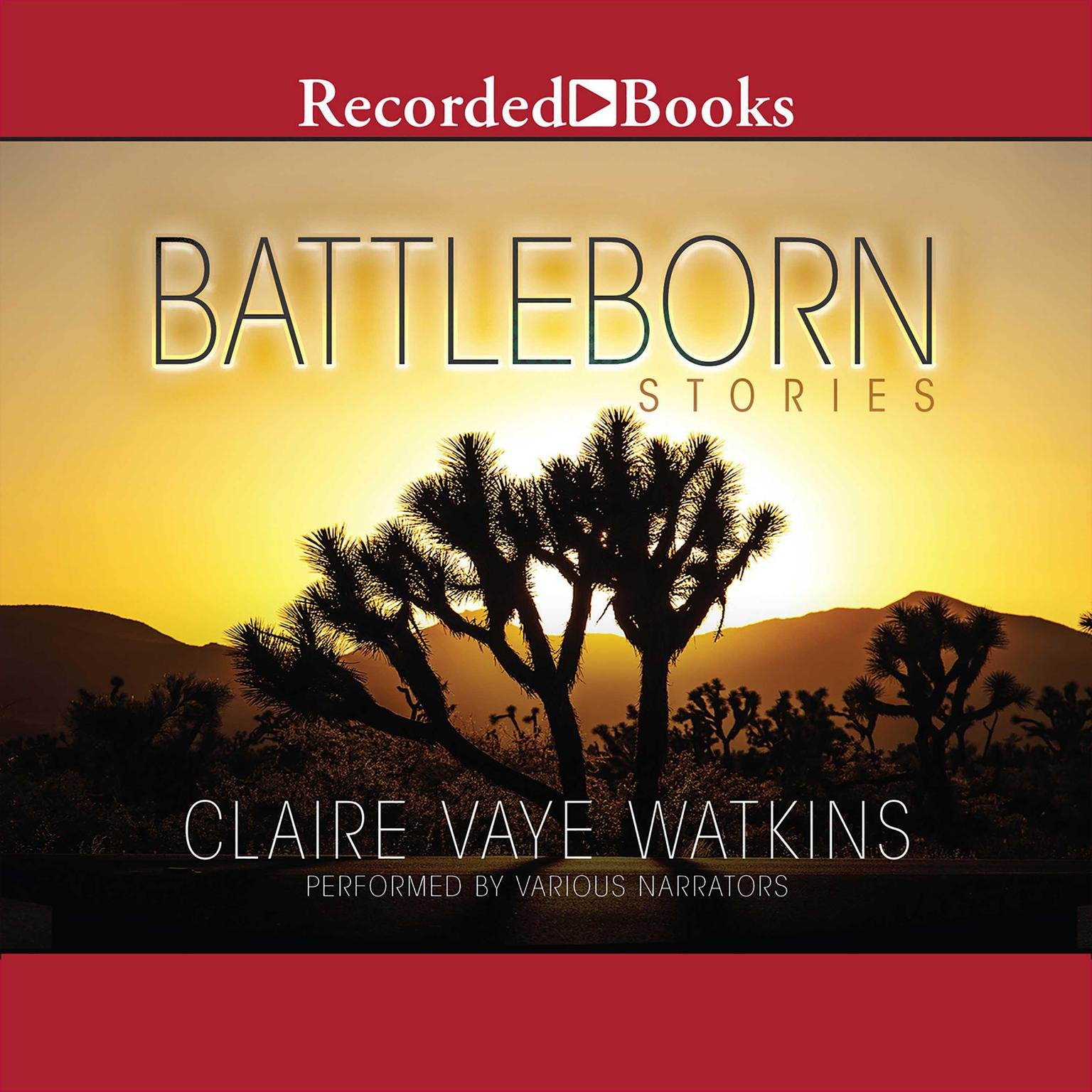 Printable Battleborn Audiobook Cover Art