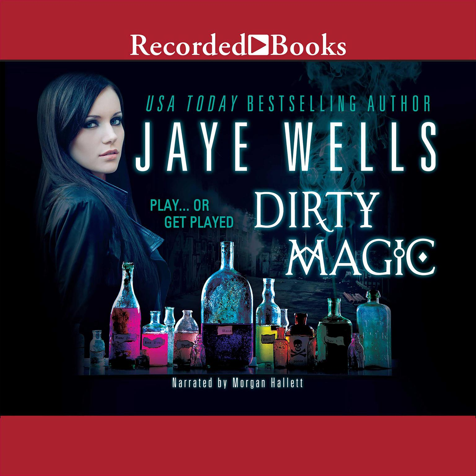 Printable Dirty Magic Audiobook Cover Art