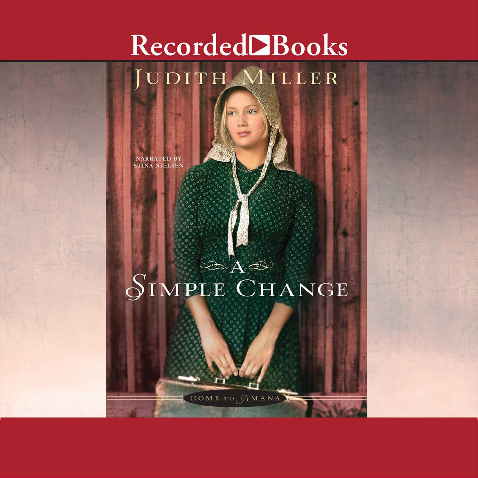 Printable A Simple Change Audiobook Cover Art