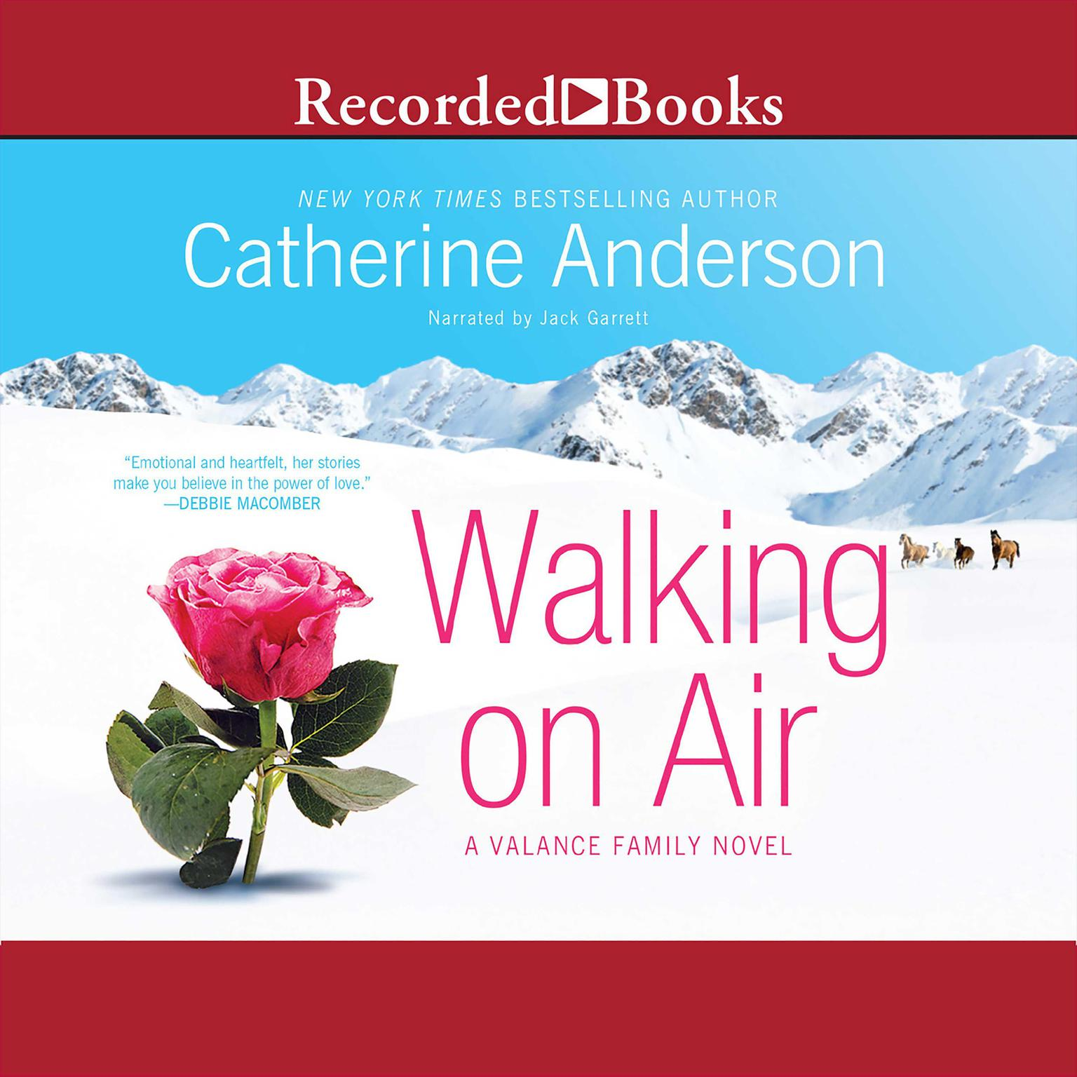 Printable Walking on Air Audiobook Cover Art