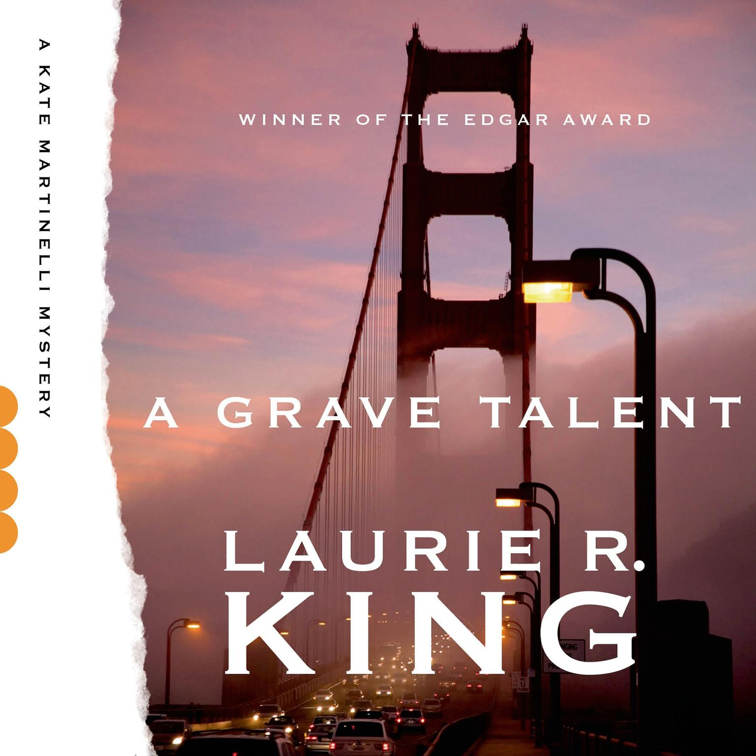 Printable A Grave Talent: A Novel Audiobook Cover Art
