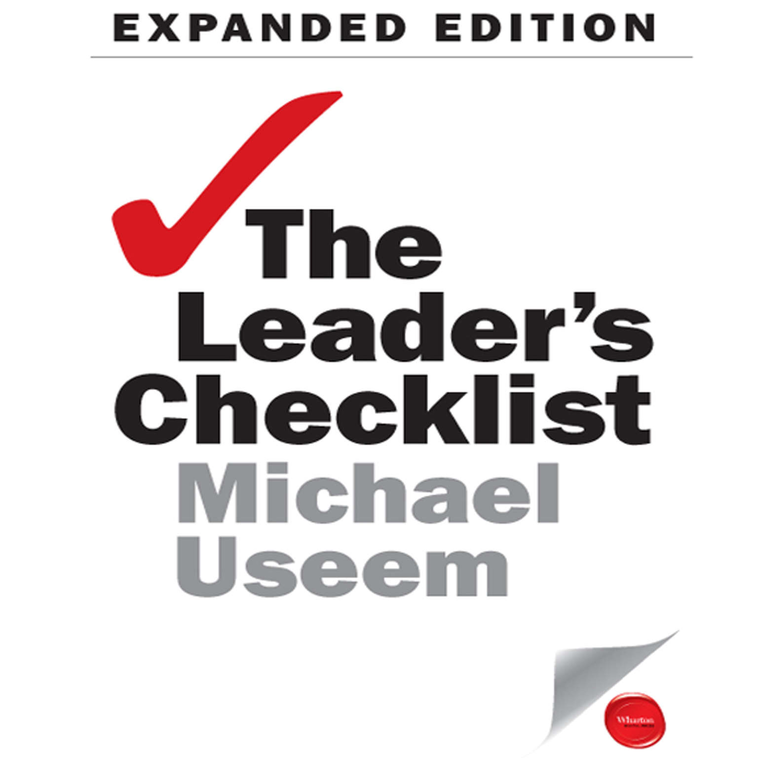 Printable The Leader's Checklist Expanded Edition: 15 Mission-Critical Principles Audiobook Cover Art