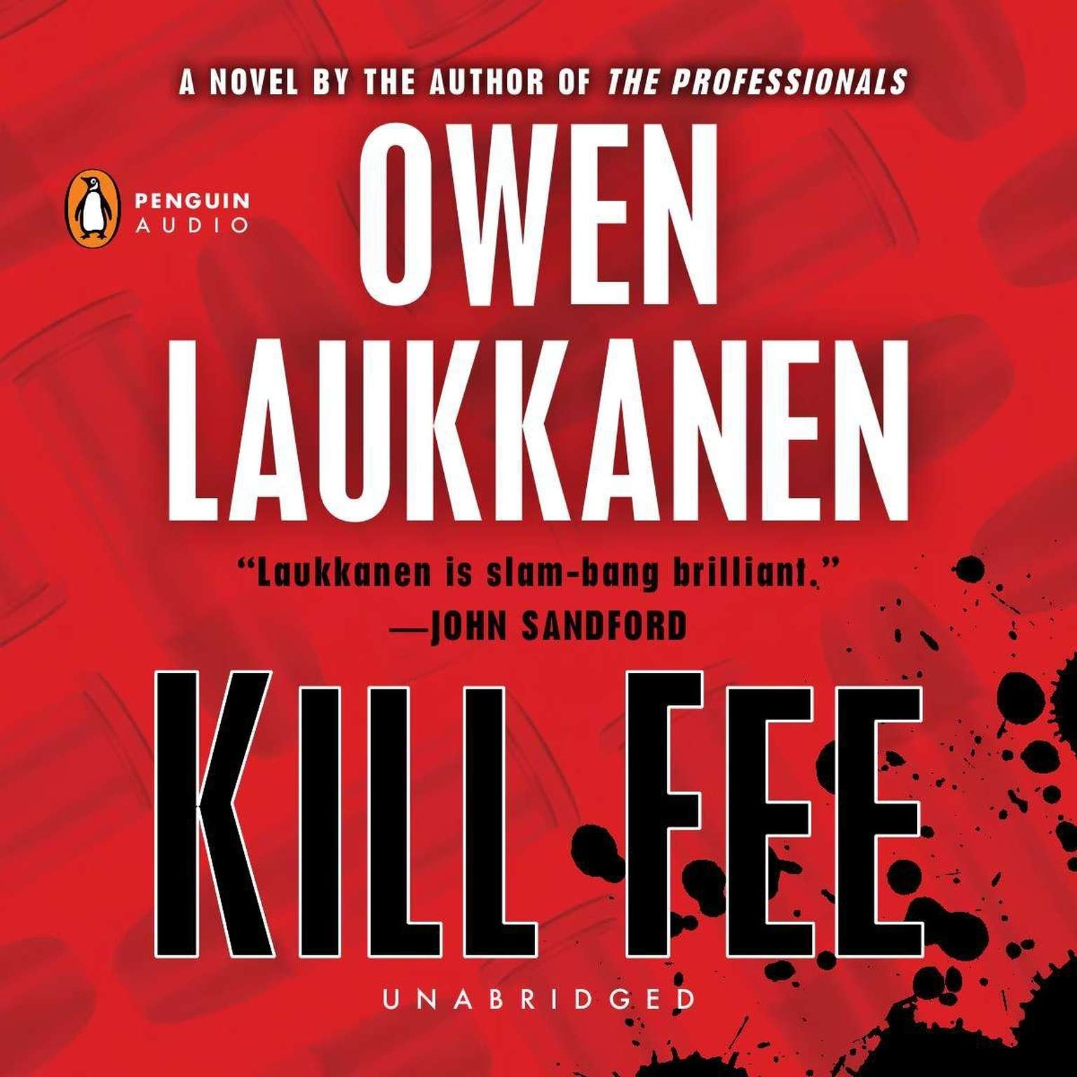Printable Kill Fee Audiobook Cover Art