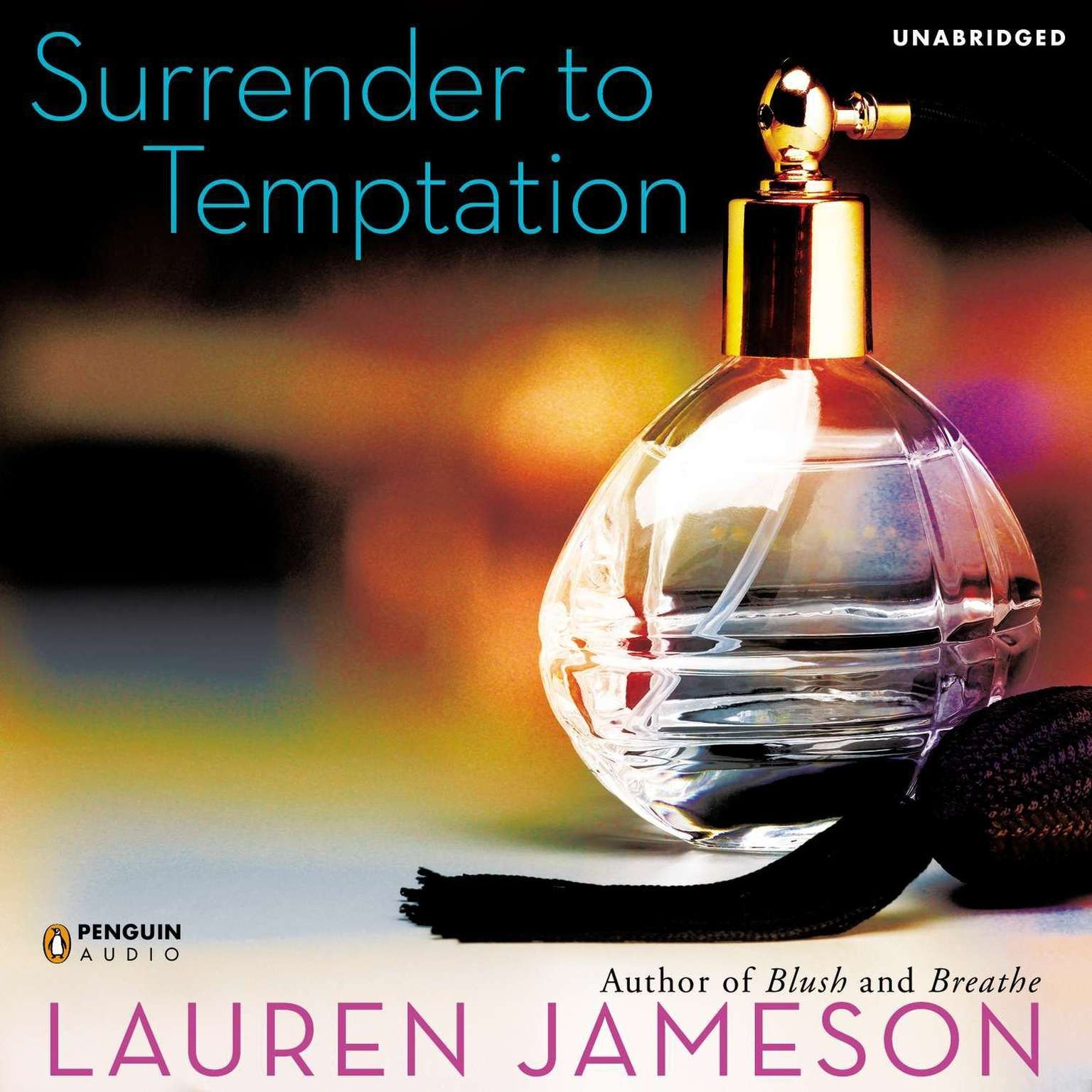 Printable Surrender to Temptation Audiobook Cover Art