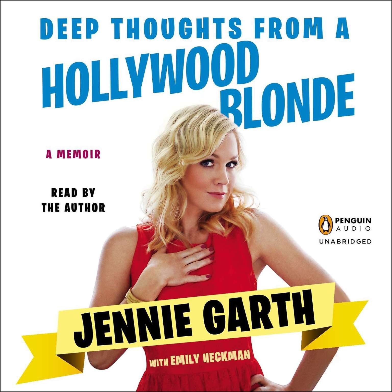 Printable Deep Thoughts From a Hollywood Blonde: A Memoir Audiobook Cover Art