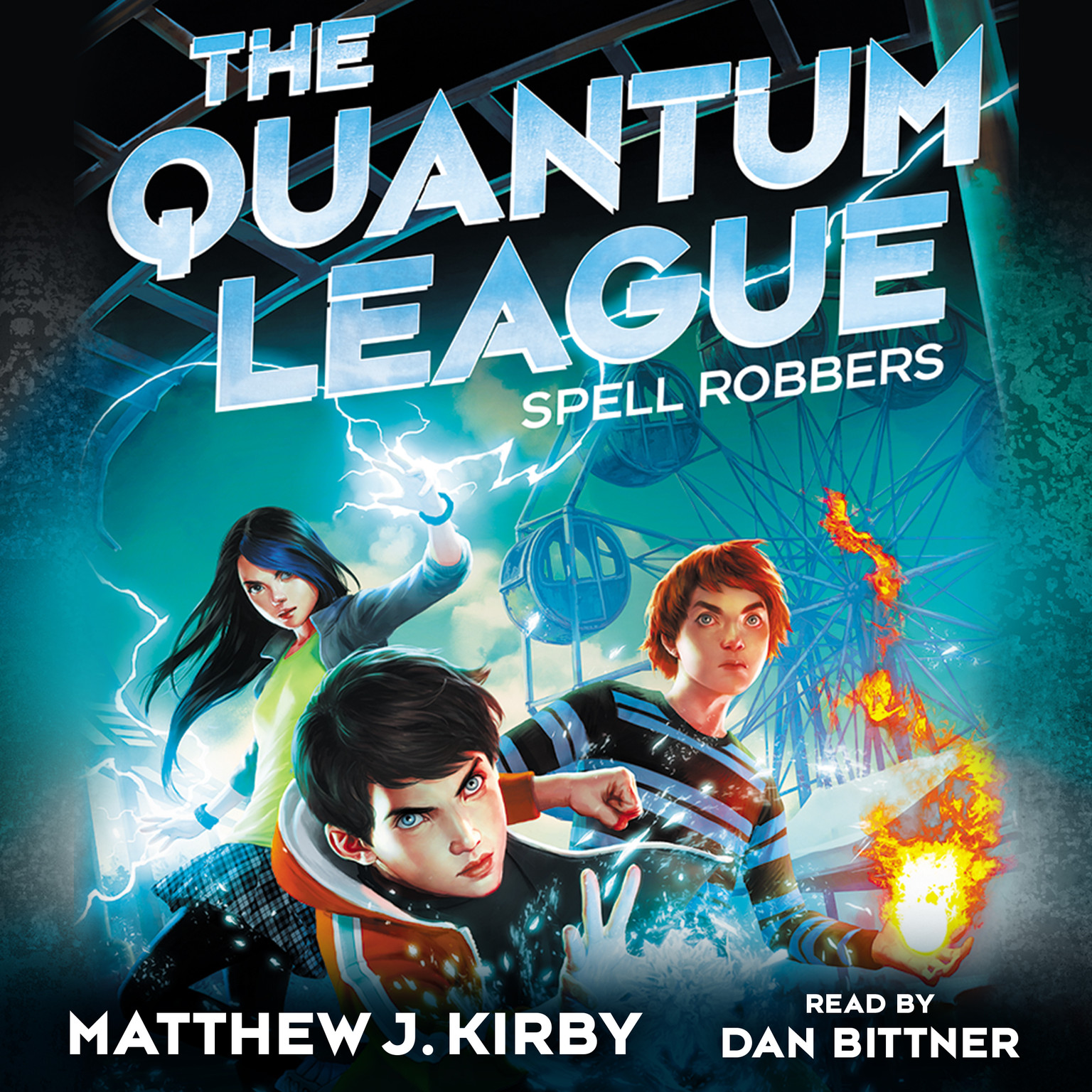 Printable Spell Robbers Audiobook Cover Art