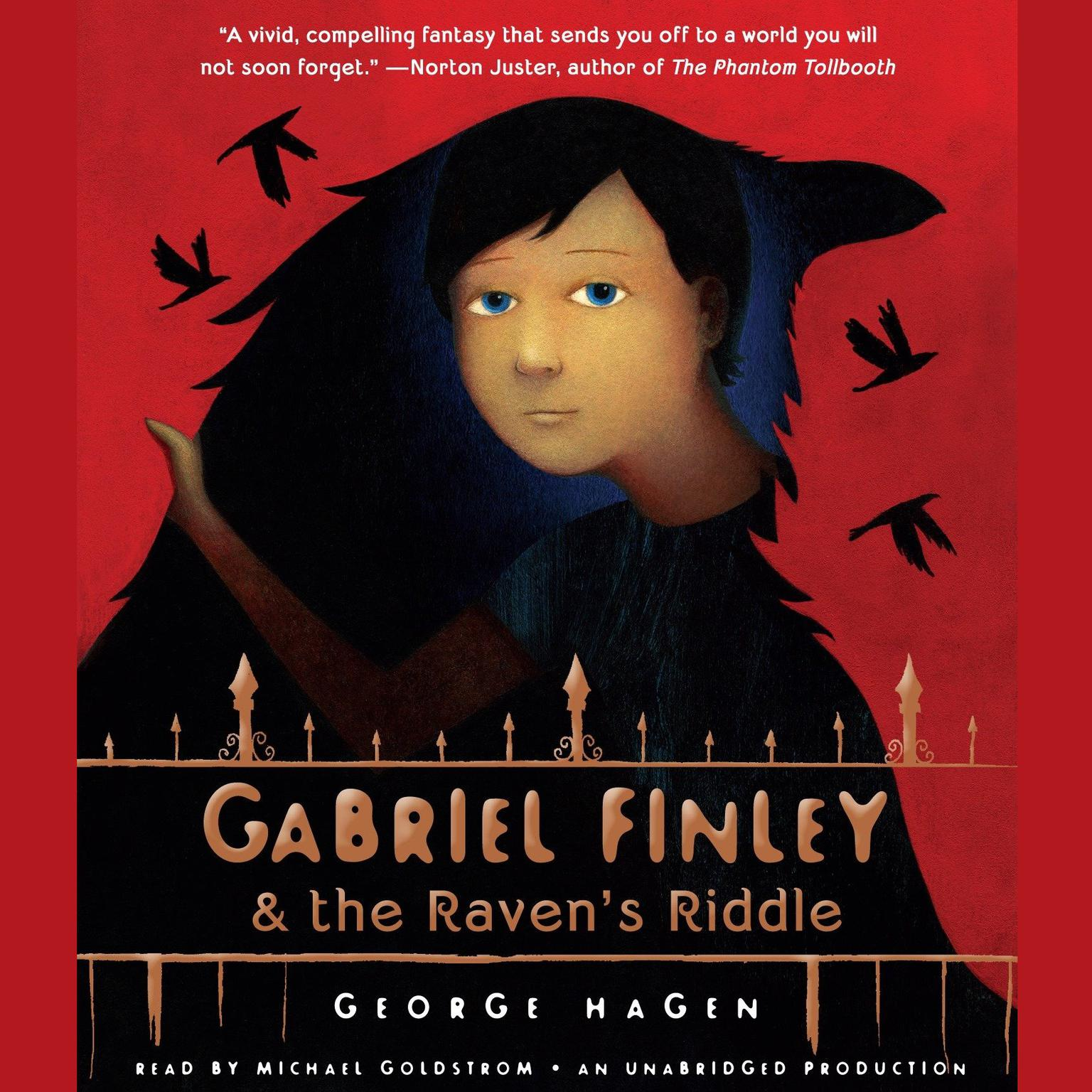 Printable Gabriel Finley and the Raven's Riddle Audiobook Cover Art