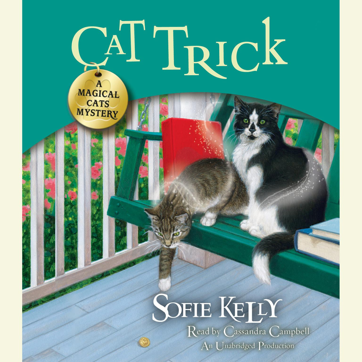Printable Cat Trick: A Magical Cats Mystery Audiobook Cover Art