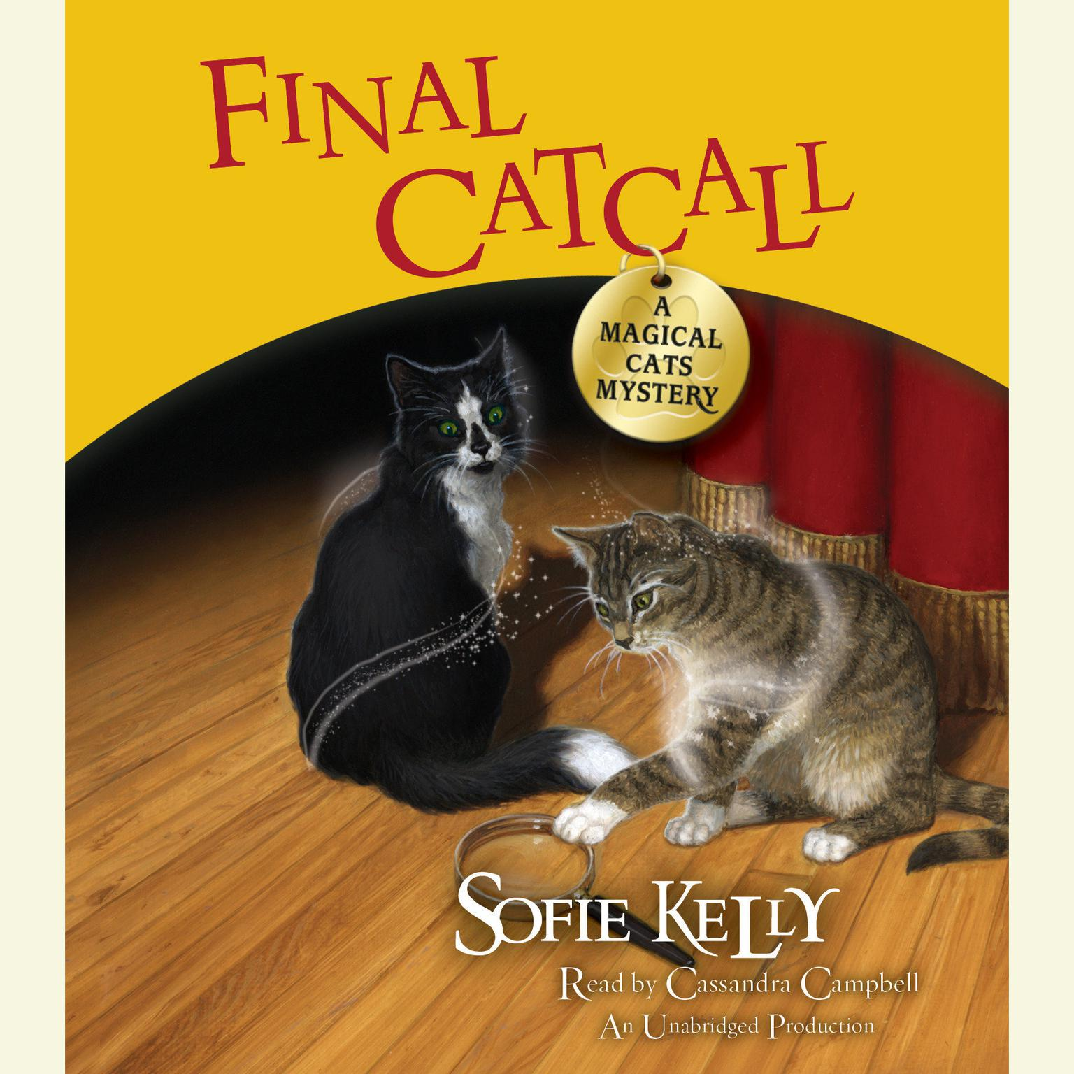Printable Final Catcall: A Magical Cats Mystery Audiobook Cover Art