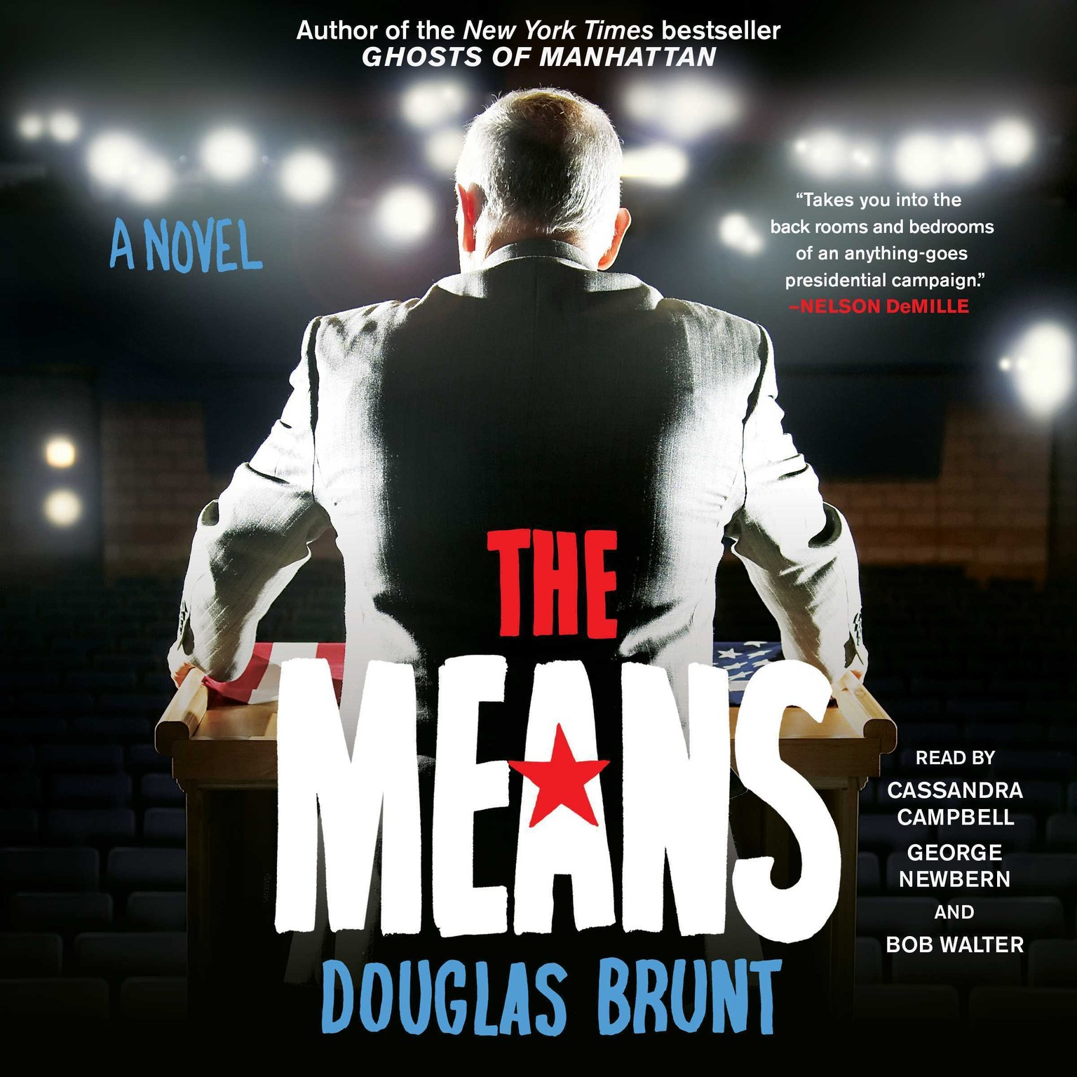 Printable The Means: A Novel Audiobook Cover Art