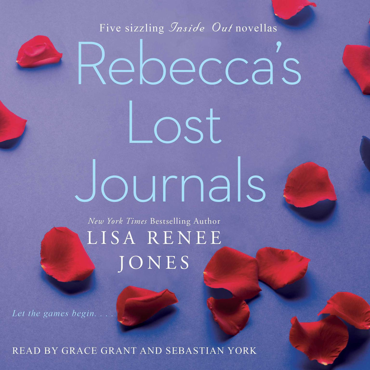 Printable Rebecca's Lost Journals, Volumes 1-4 Audiobook Cover Art
