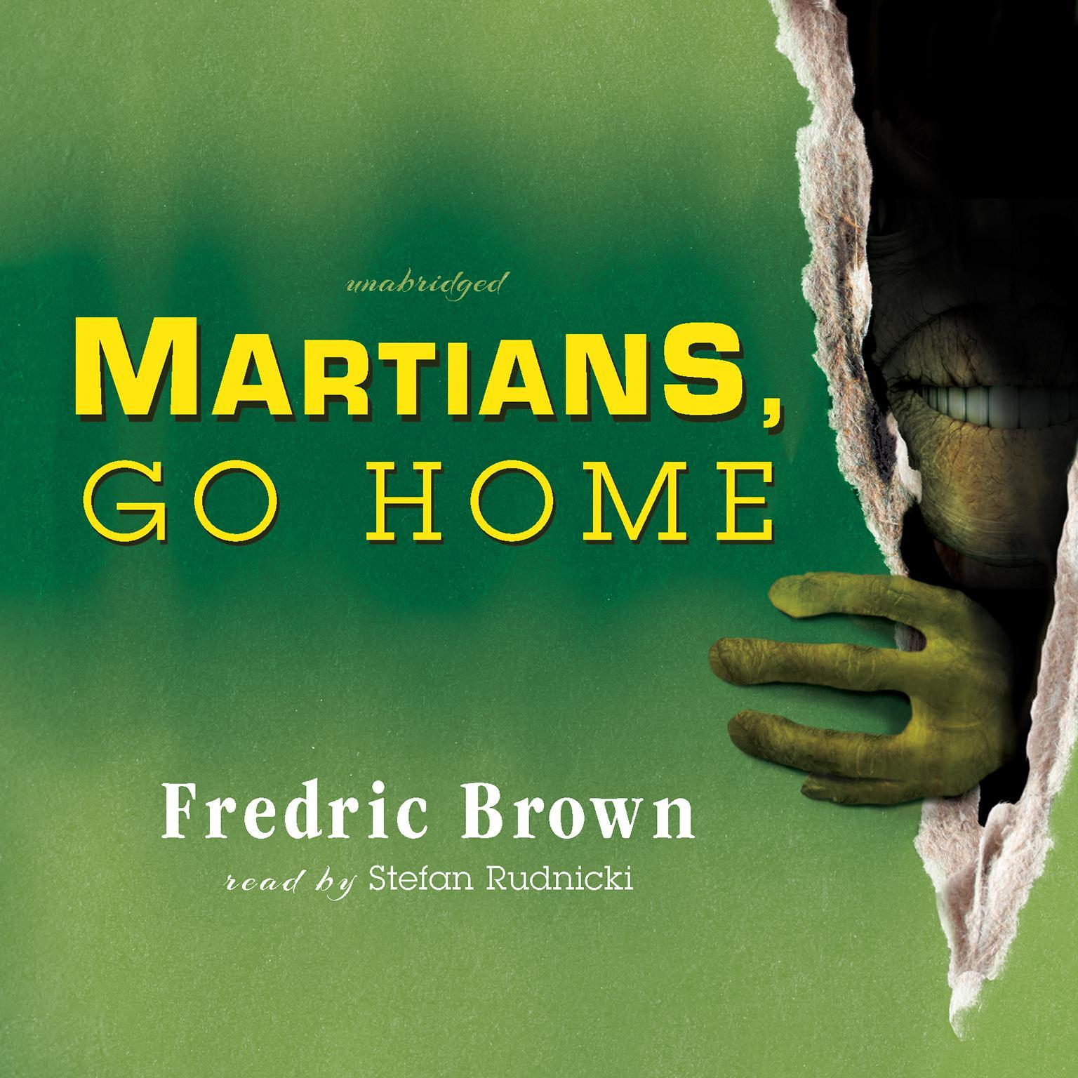 Printable Martians, Go Home Audiobook Cover Art