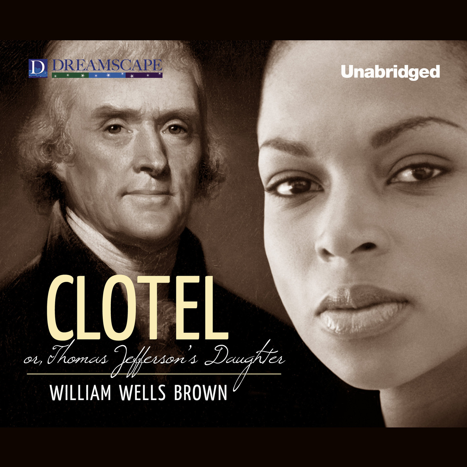 Printable Clotel: or, The President's Daughter Audiobook Cover Art