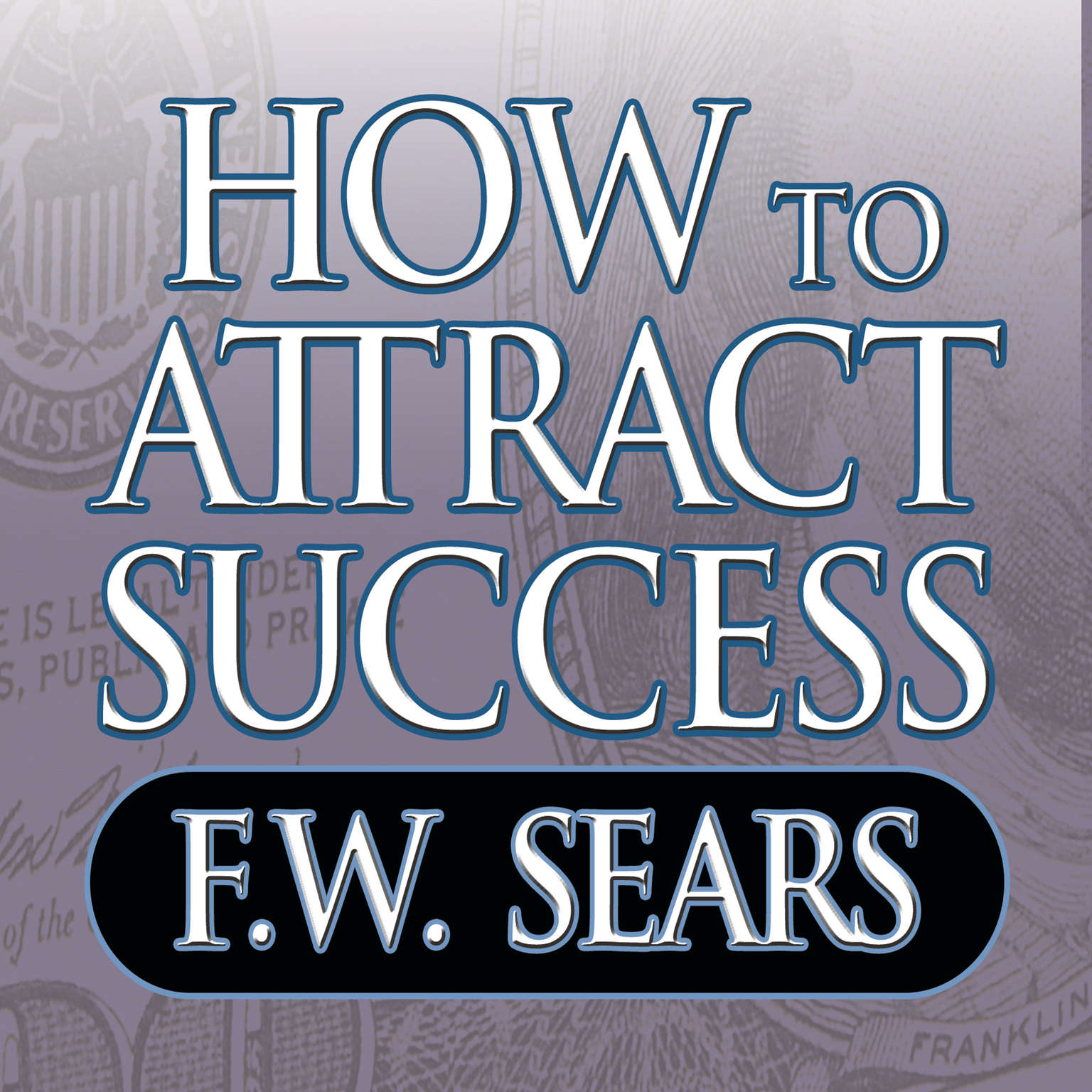 Printable How to Attract Success Audiobook Cover Art