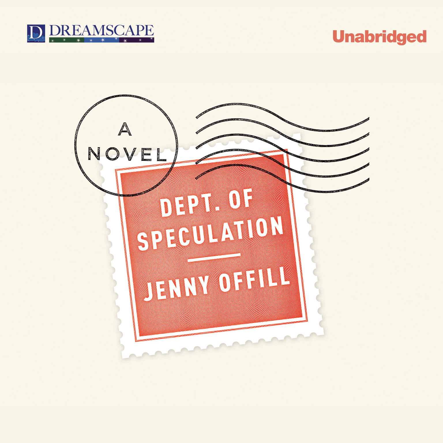Printable Dept. of Speculation Audiobook Cover Art