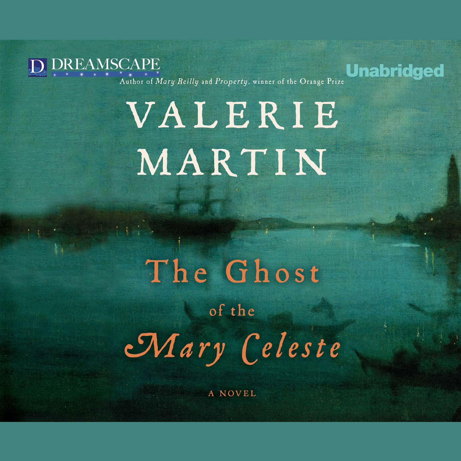 Printable The Ghost of the Mary Celeste Audiobook Cover Art