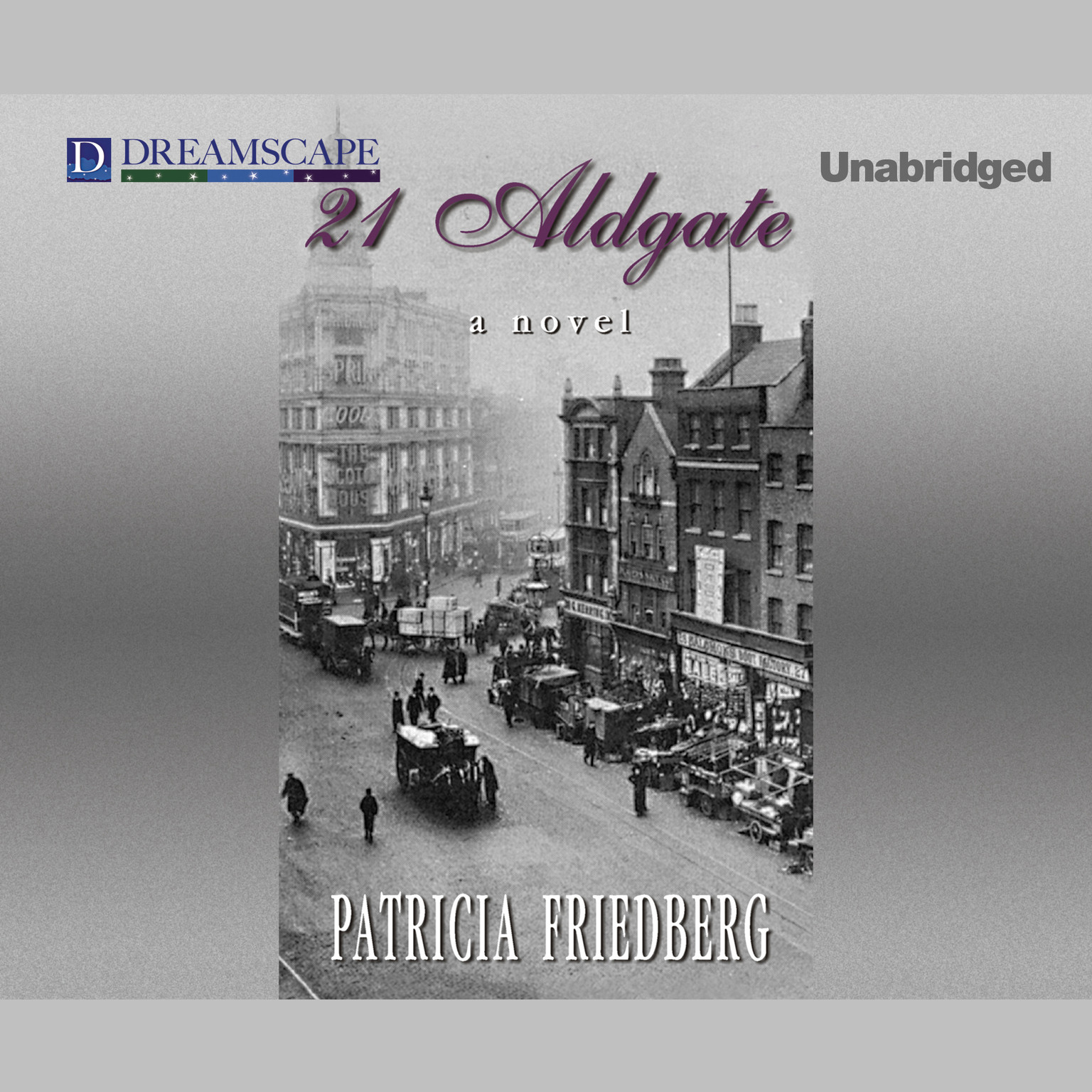 Printable 21 Aldgate Audiobook Cover Art
