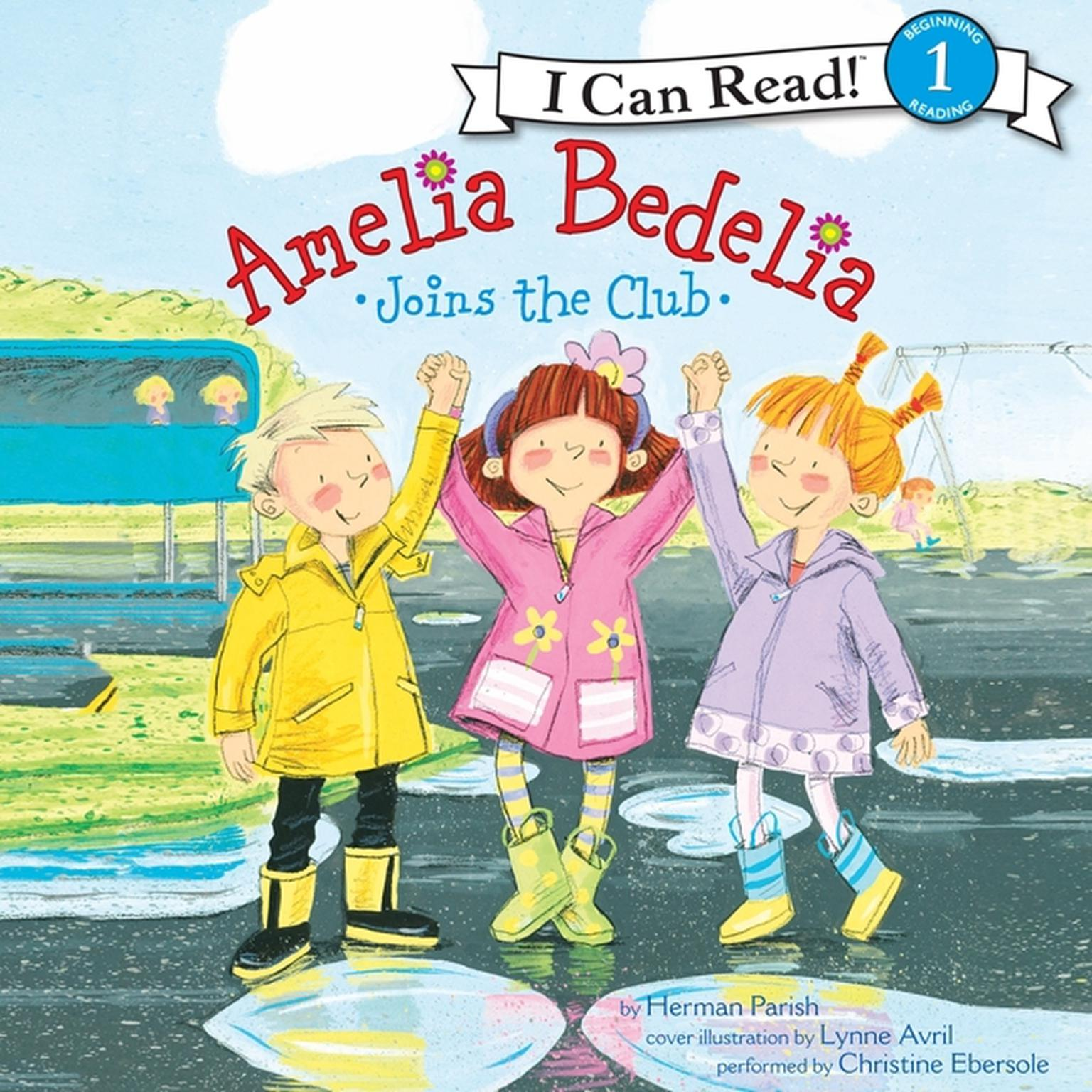 Printable Amelia Bedelia Joins the Club Audiobook Cover Art