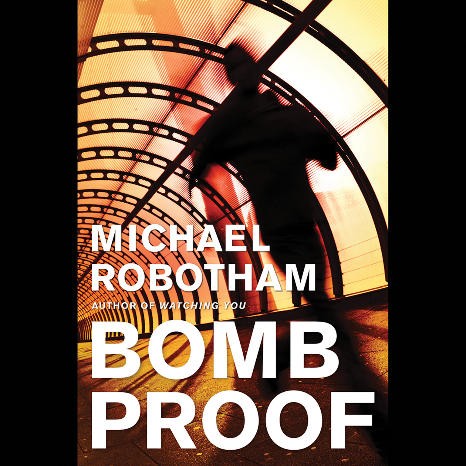 Printable Bombproof Audiobook Cover Art