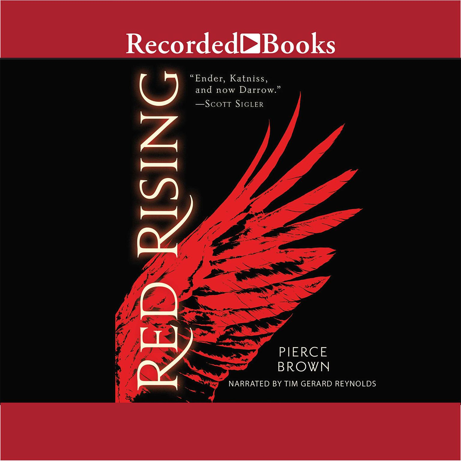 Printable Red Rising Audiobook Cover Art