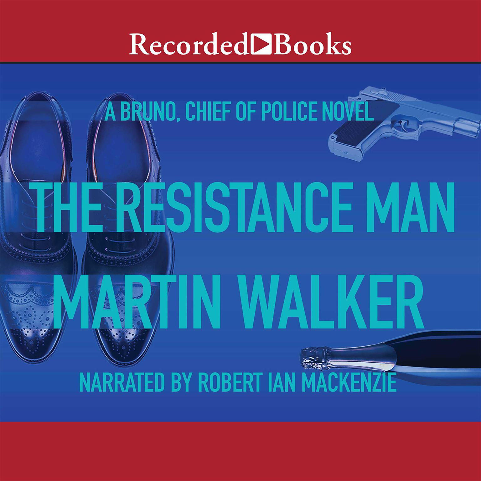 Printable The Resistance Man Audiobook Cover Art