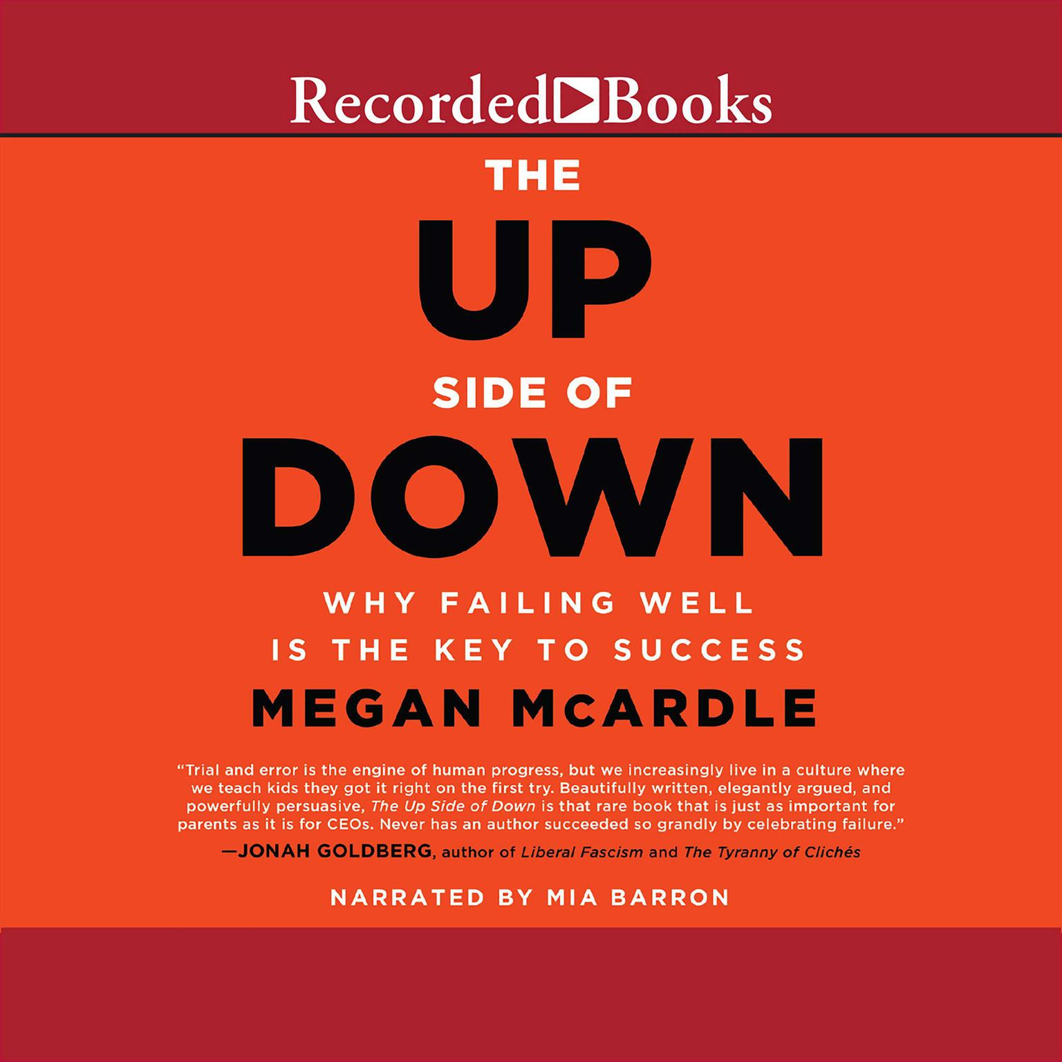 Printable The Up Side of Down: Why Failing Well Is the Key to Success Audiobook Cover Art