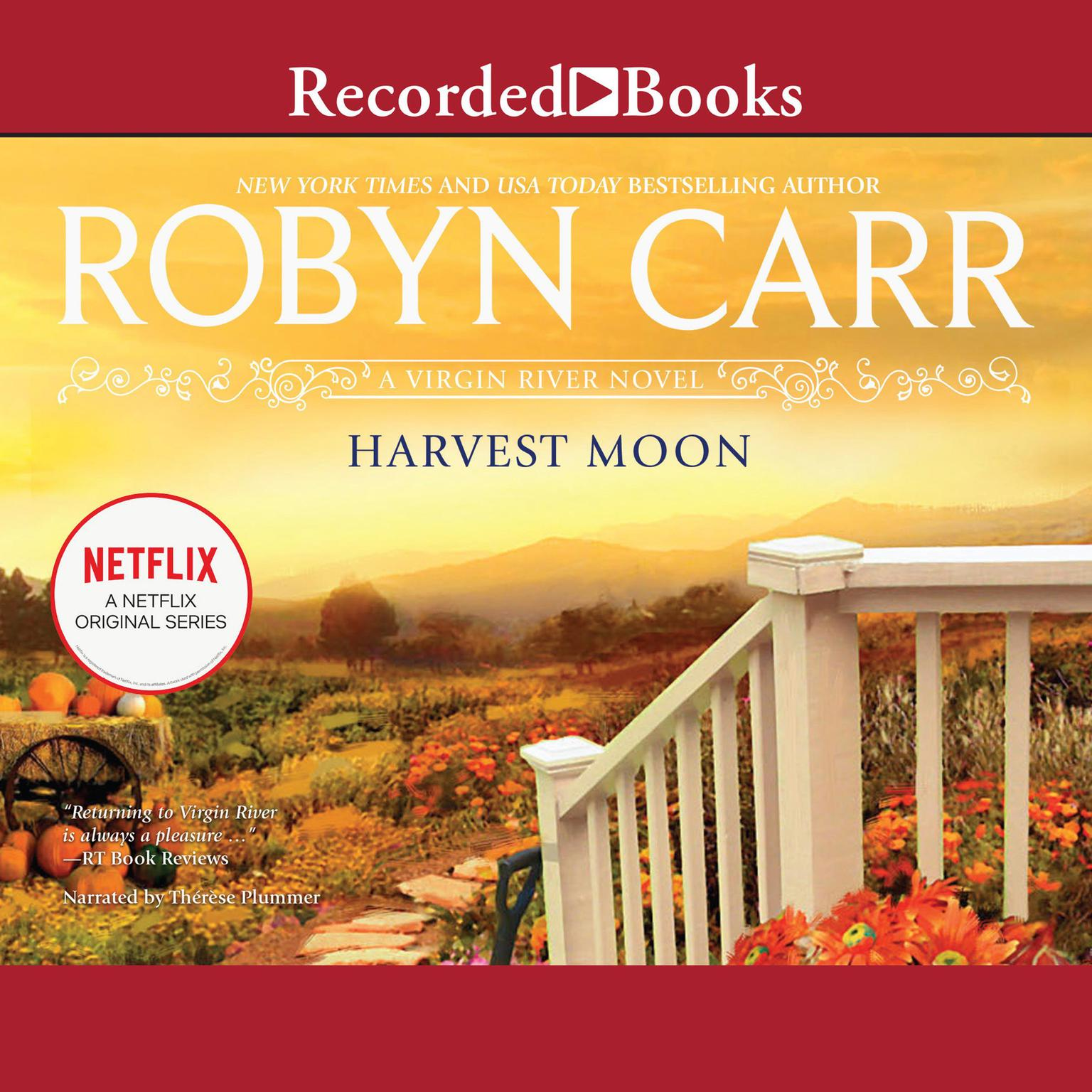 Printable Harvest Moon Audiobook Cover Art