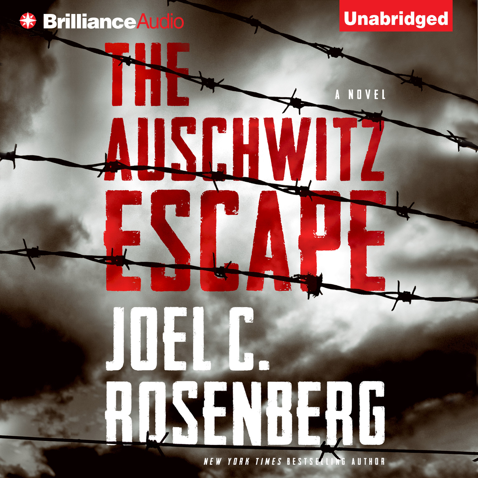 Printable The Auschwitz Escape Audiobook Cover Art