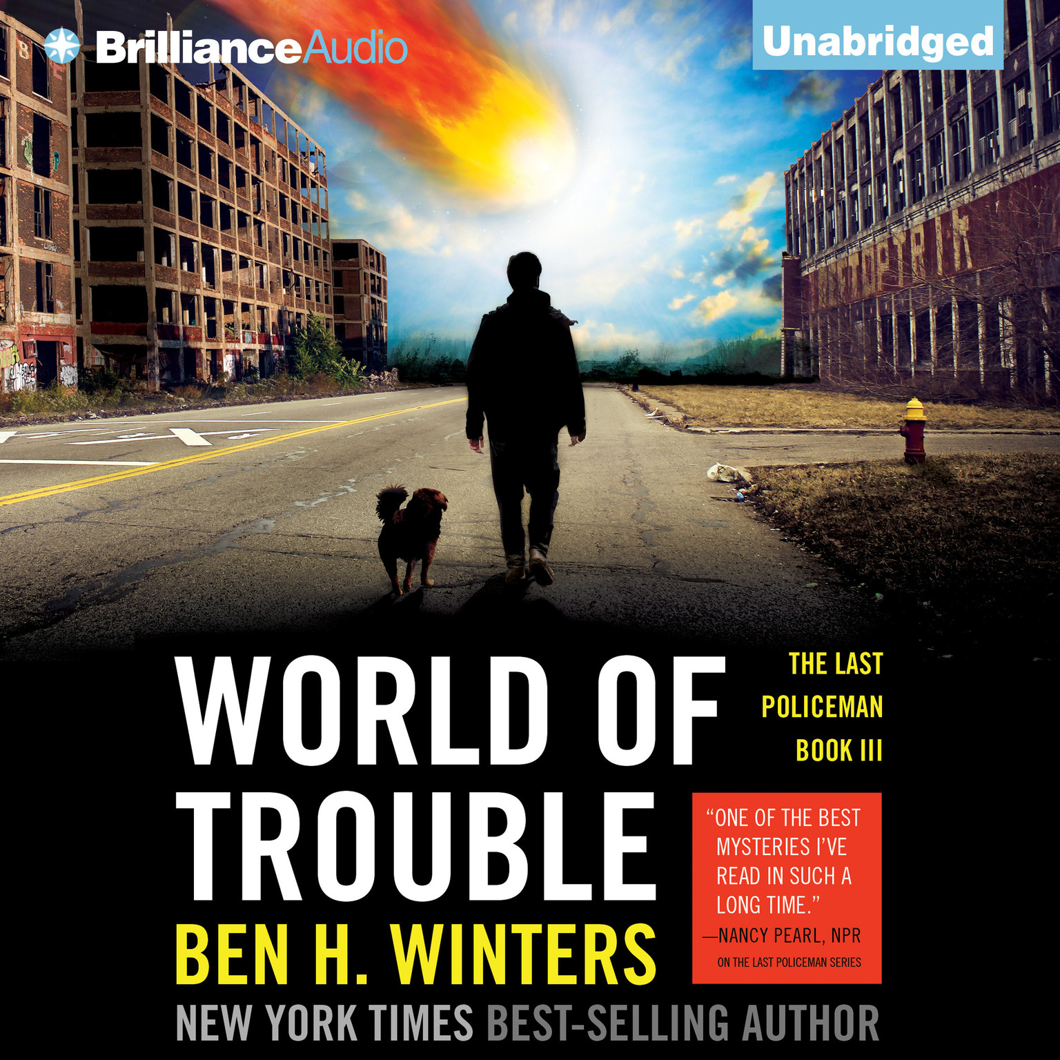 Printable World of Trouble Audiobook Cover Art
