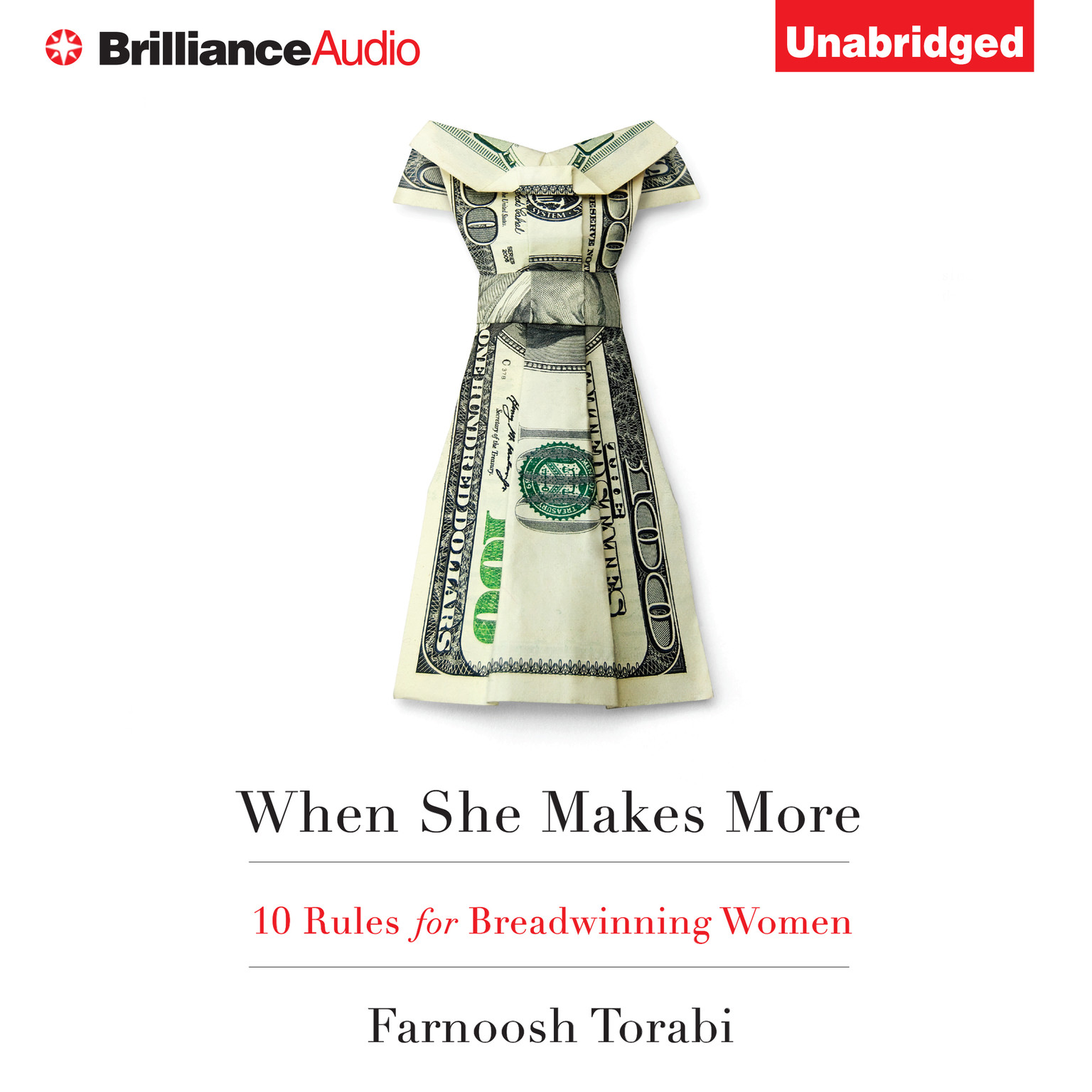 Printable When She Makes More: 10 Rules for Breadwinning Women Audiobook Cover Art