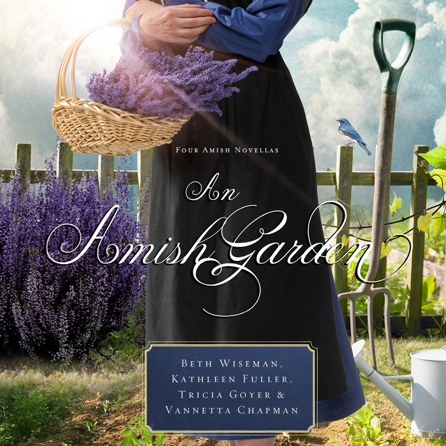 Printable An Amish Garden Audiobook Cover Art