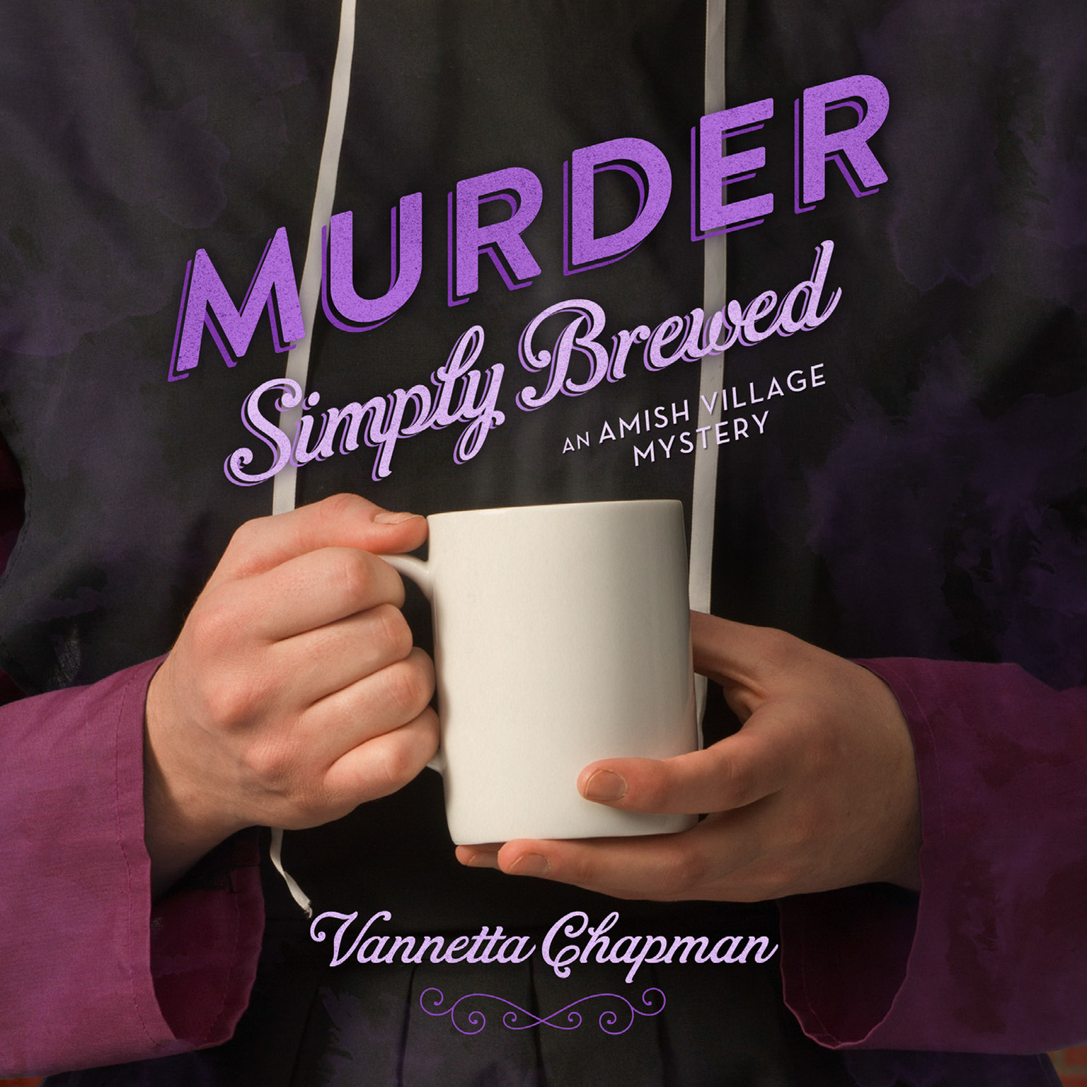 Printable Murder Simply Brewed Audiobook Cover Art