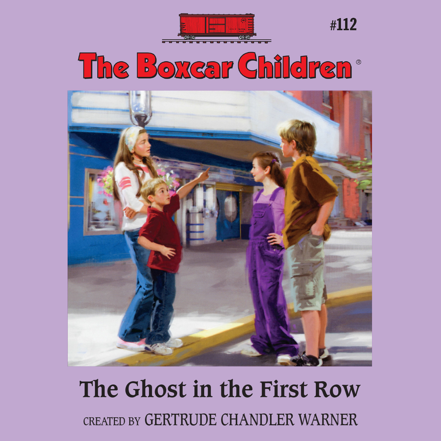 Printable The Ghost in the First Row Audiobook Cover Art