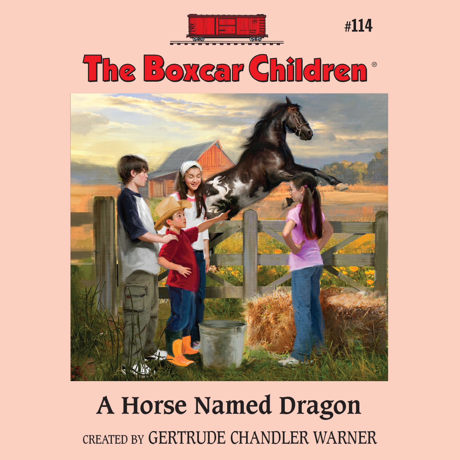 Printable A Horse Named Dragon Audiobook Cover Art