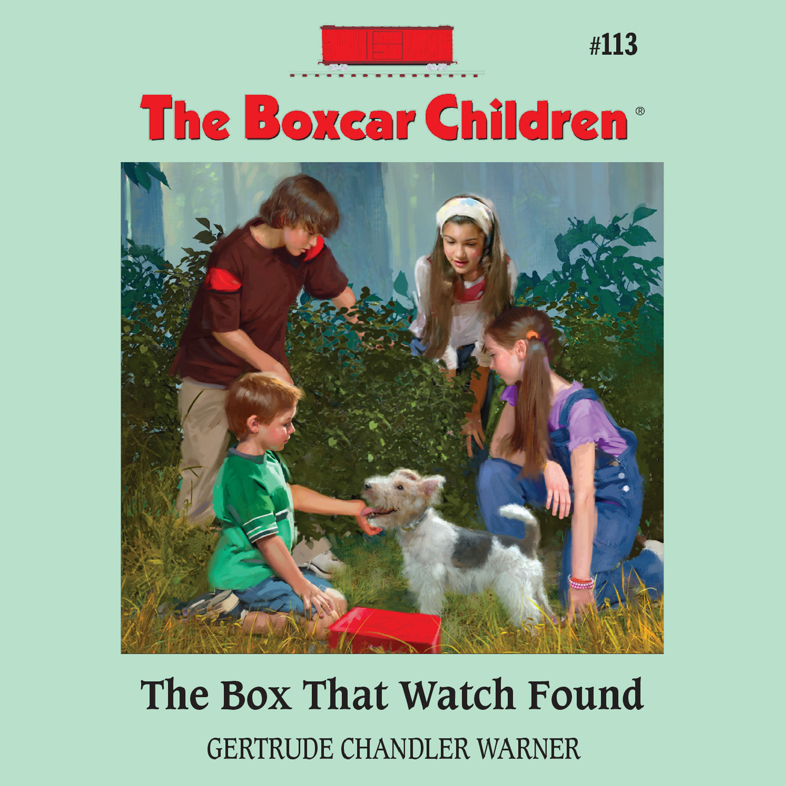 Printable The Box That Watch Found Audiobook Cover Art