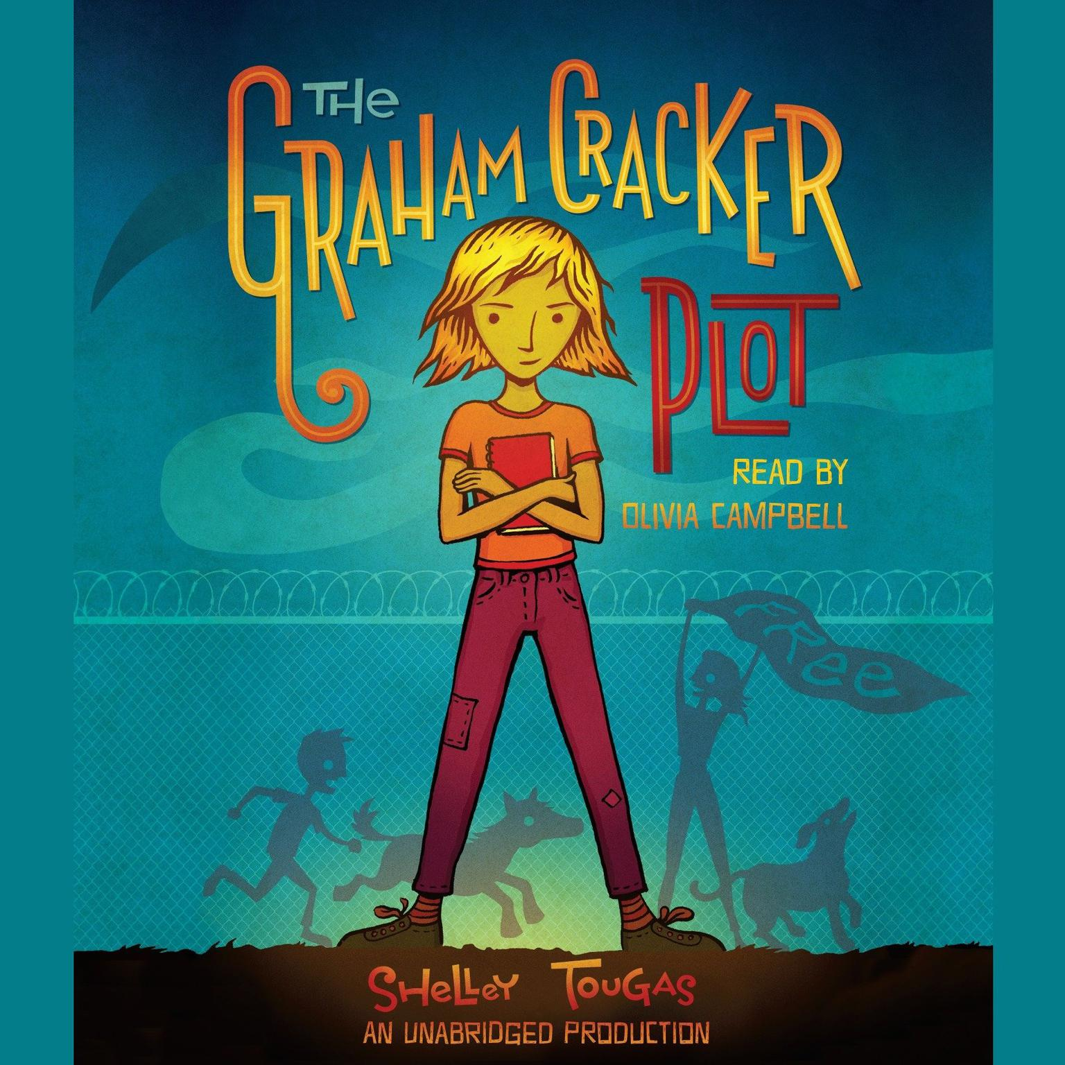 Printable The Graham Cracker Plot Audiobook Cover Art