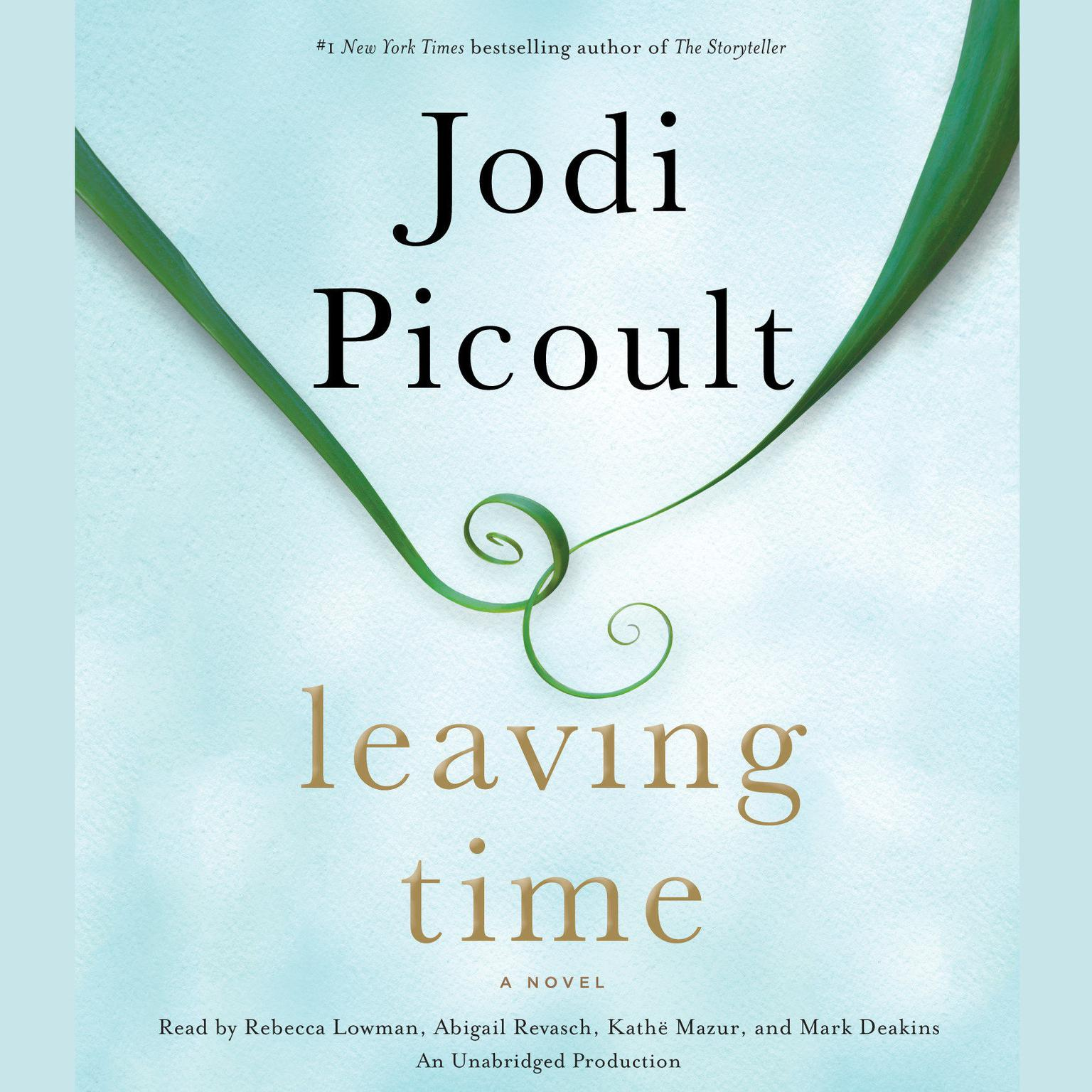 Printable Leaving Time: A Novel Audiobook Cover Art
