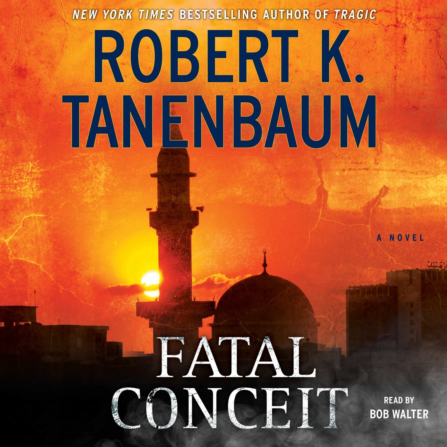 Printable Fatal Conceit: A Novel Audiobook Cover Art