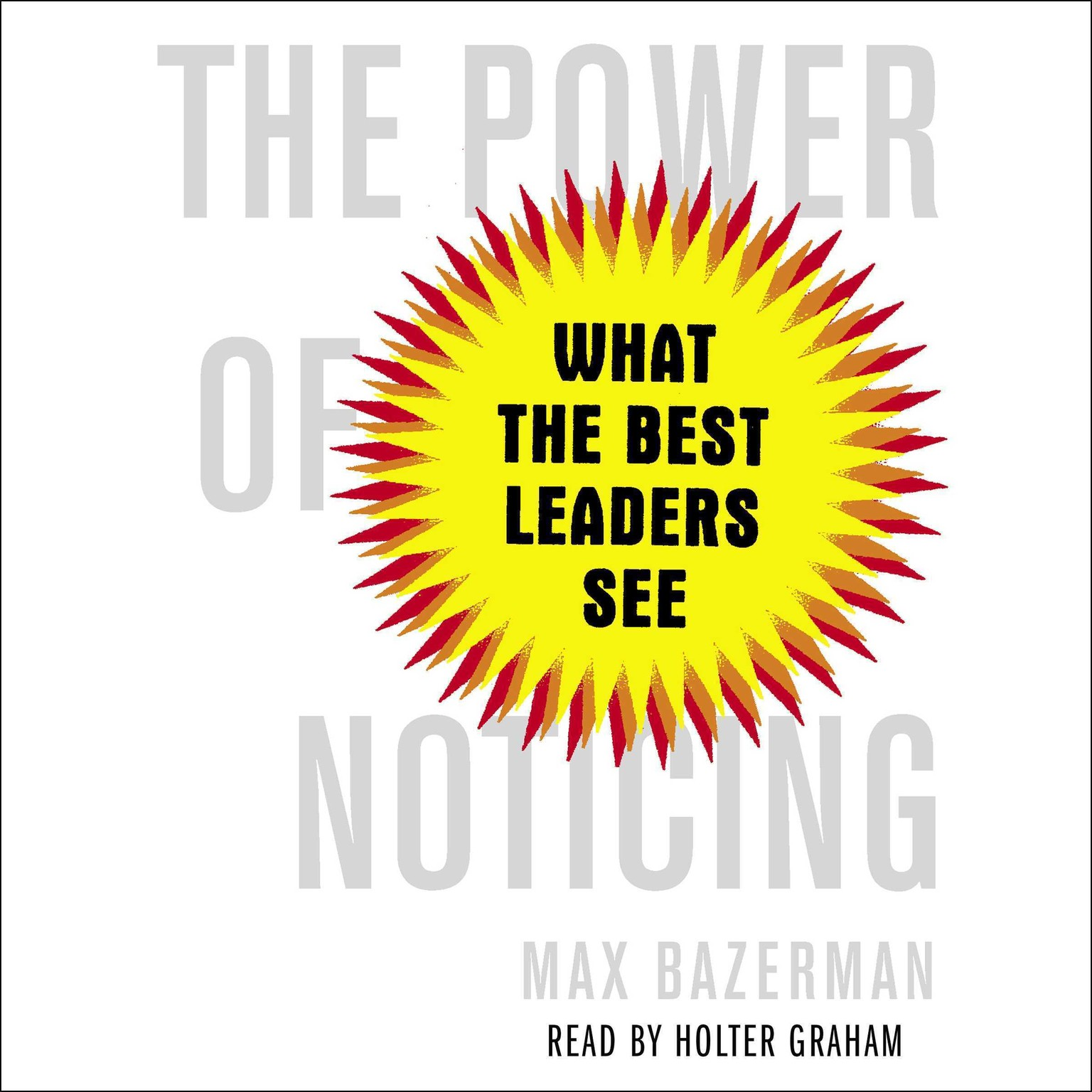 Printable The Power of Noticing: What the Best Leaders See Audiobook Cover Art